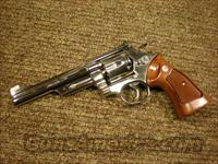 Smith & Wesson Model 29 NICKEL 6 Inch 357magnum  Smith & Wesson Revolvers > Model 629