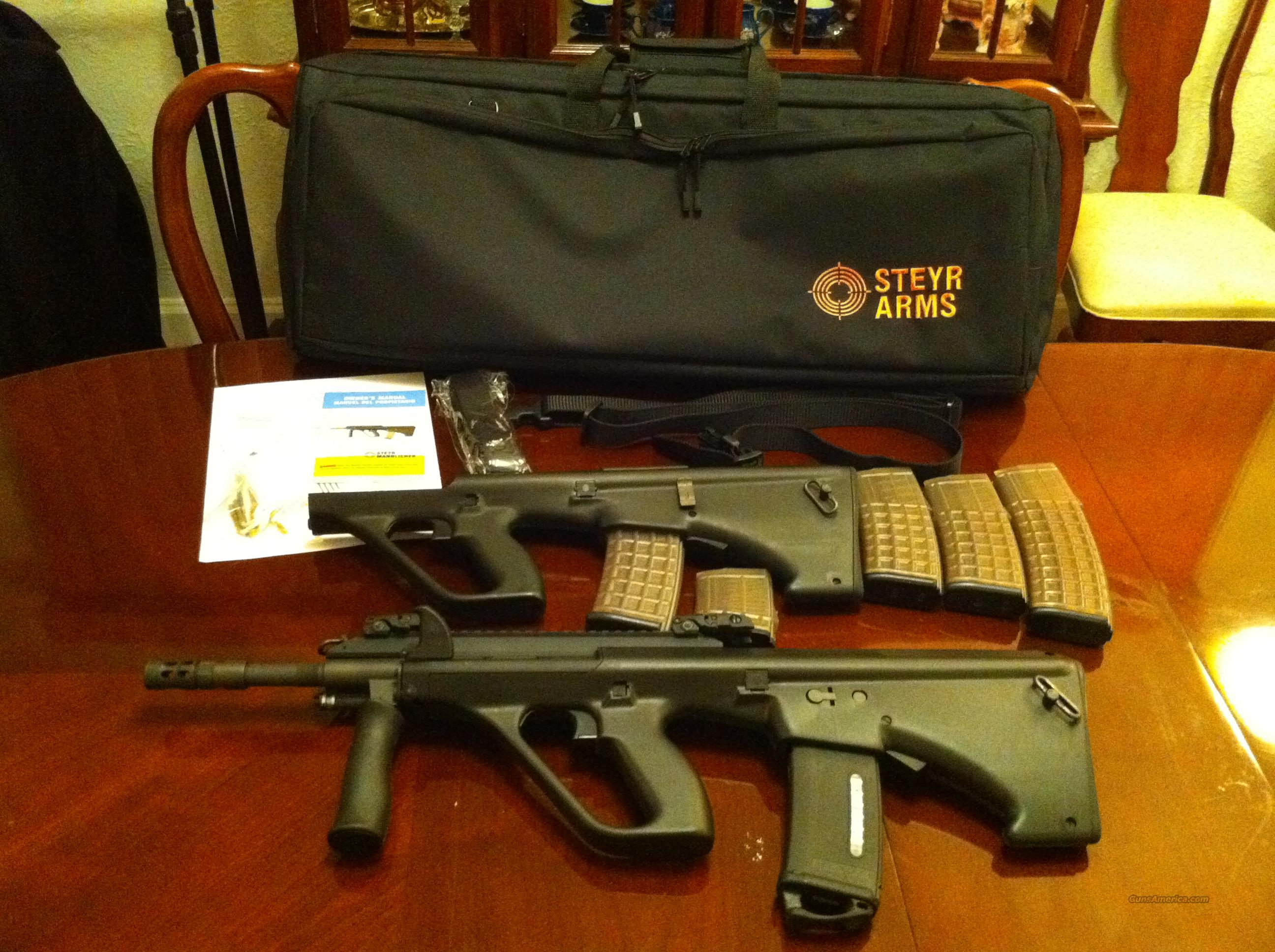 Super Steyr AUG A3 Package 556 - NATO Stock + Steyr AUG Stock! NIB  Guns > Rifles > Steyr Rifles
