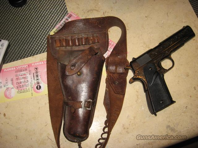 1953 MILITARY ISSUED COLT 45W/ HOLSTER  Guns > Pistols > Colt Automatic Pistols (1911 & Var)