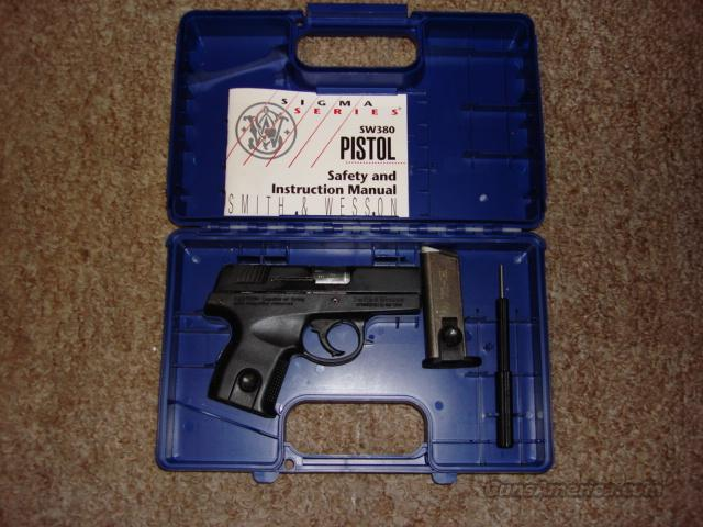 S&W    SW380  Guns > Pistols > Smith & Wesson Pistols - Autos > Polymer Frame