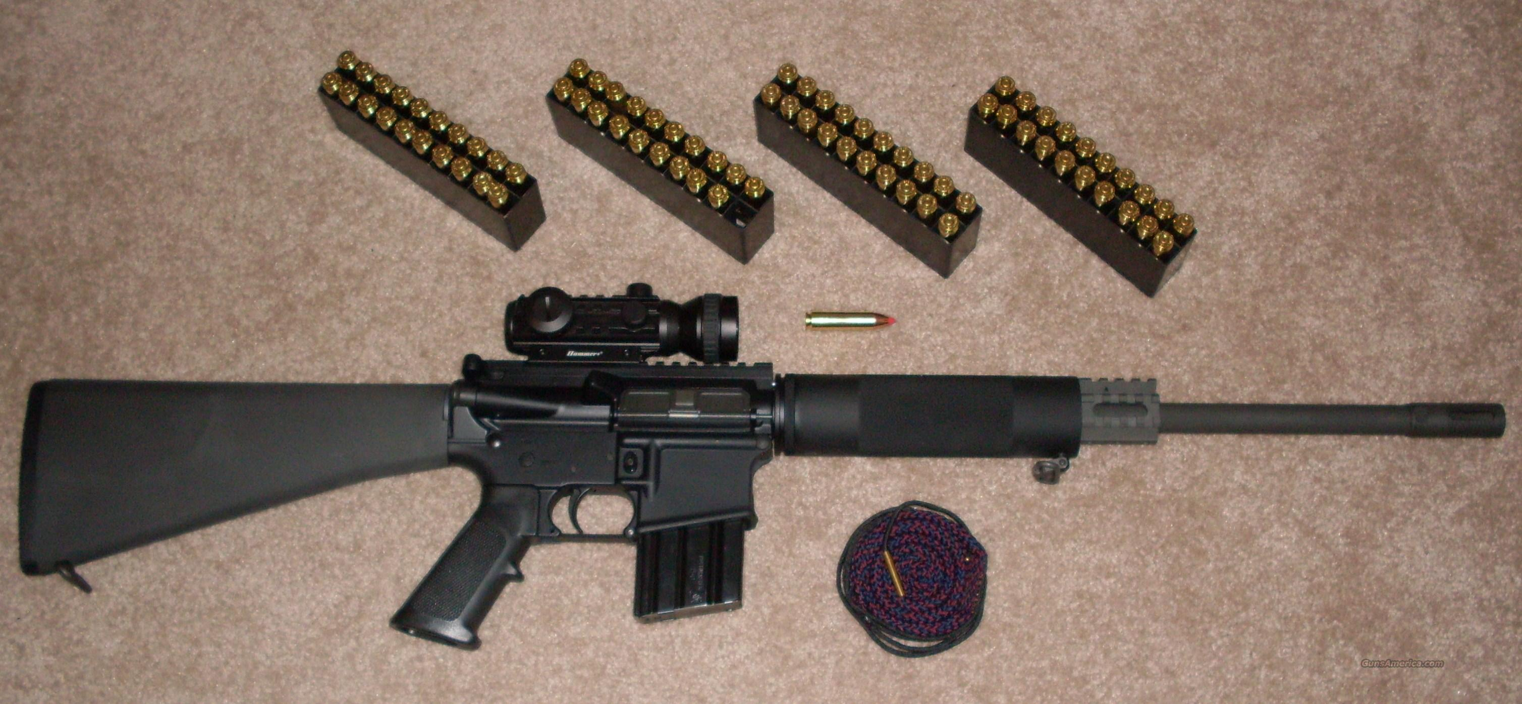 .450 BUSHMASTER WITH EXTRAS!  Guns > Rifles > Bushmaster Rifles > Complete Rifles