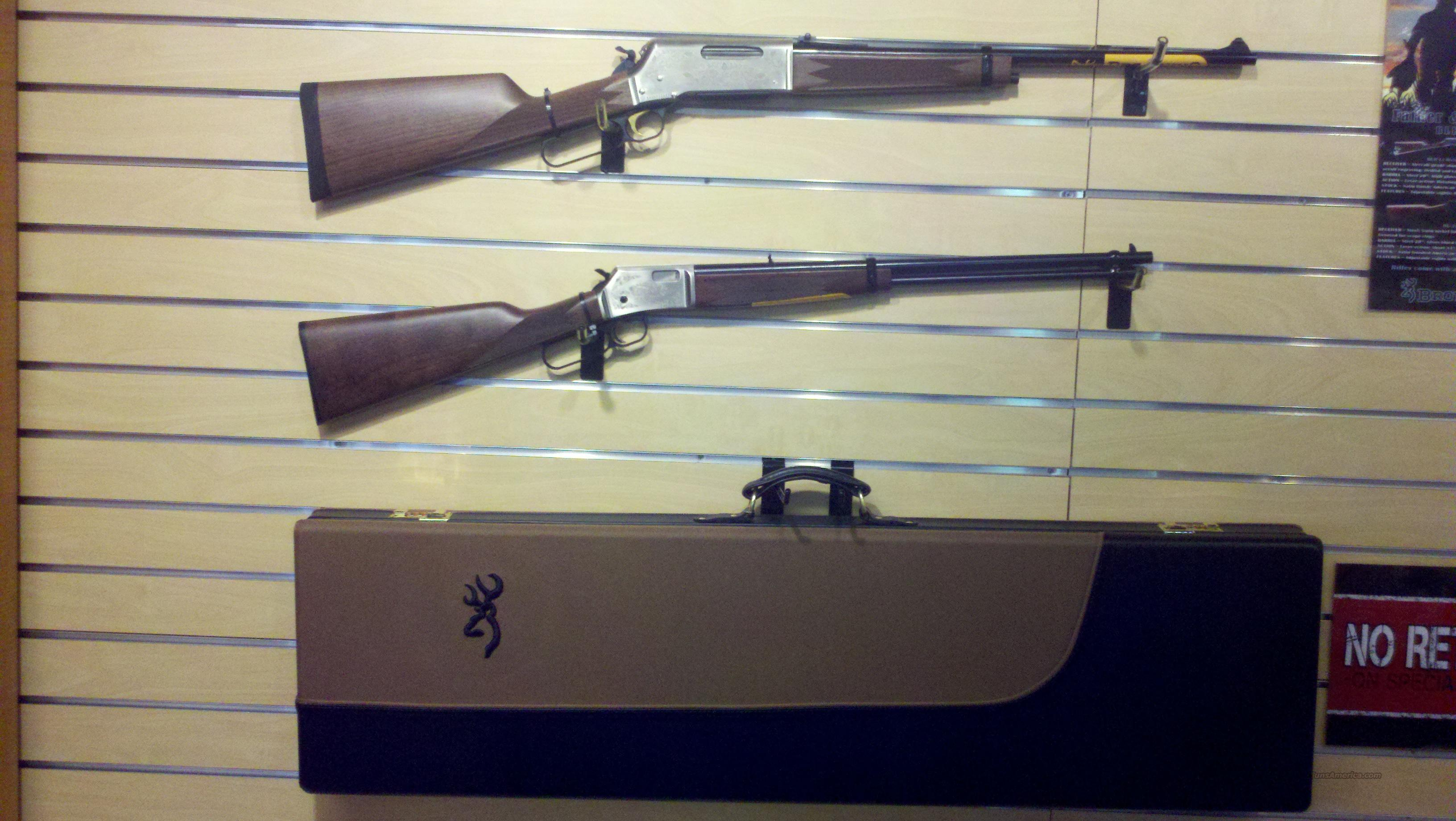 NIB BLR/BL-22 Father & Son Combo  Guns > Rifles > Browning Rifles > Lever Action