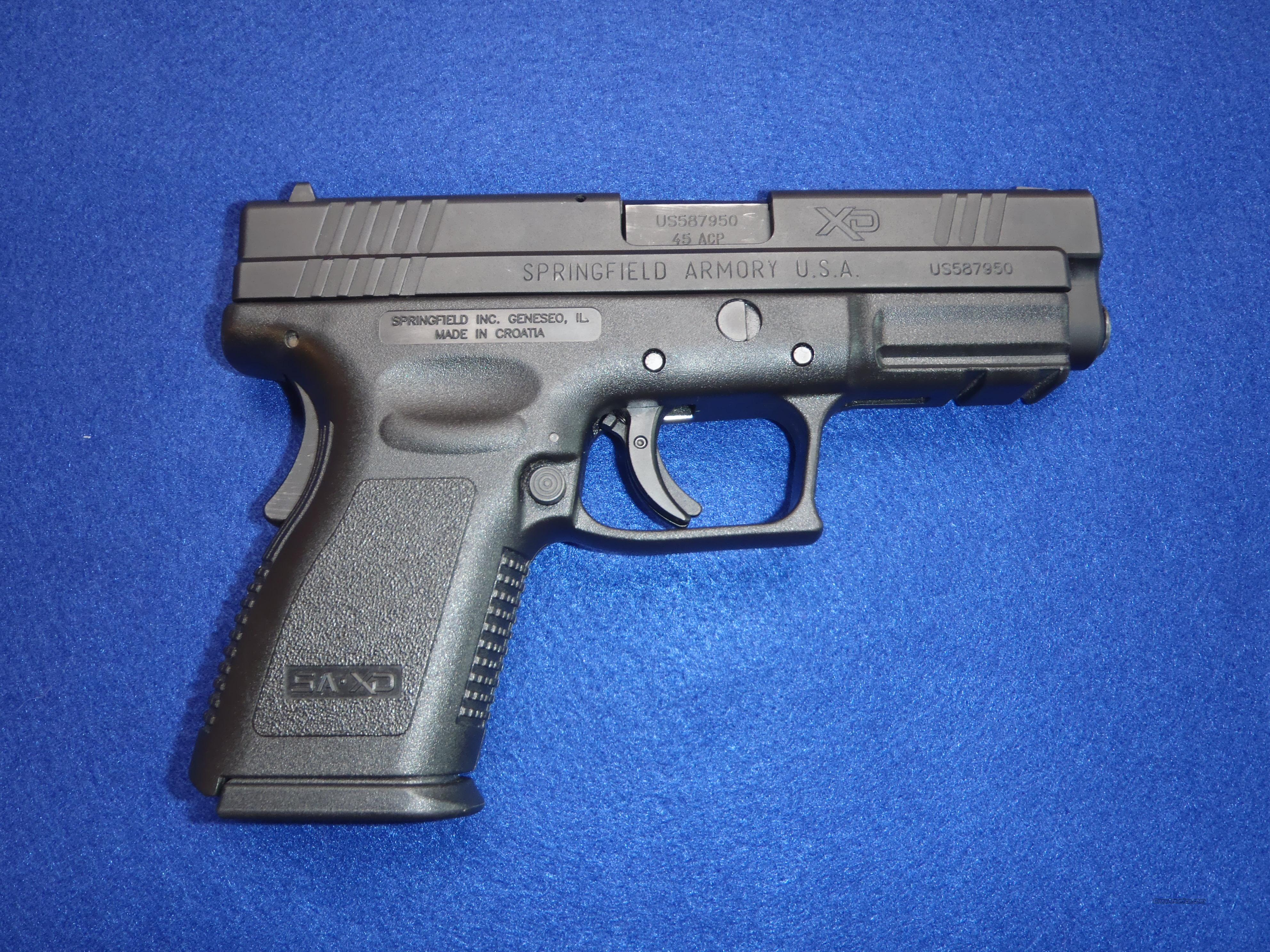 Used, Springfield XD .45 Compact  Guns > Pistols > Springfield Armory Pistols > XD (eXtreme Duty)
