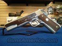 Colt 1911 Mk IV Series 70 .45 ACP Nickel Finish  Guns > Pistols > Colt Automatic Pistols (1911 & Var)