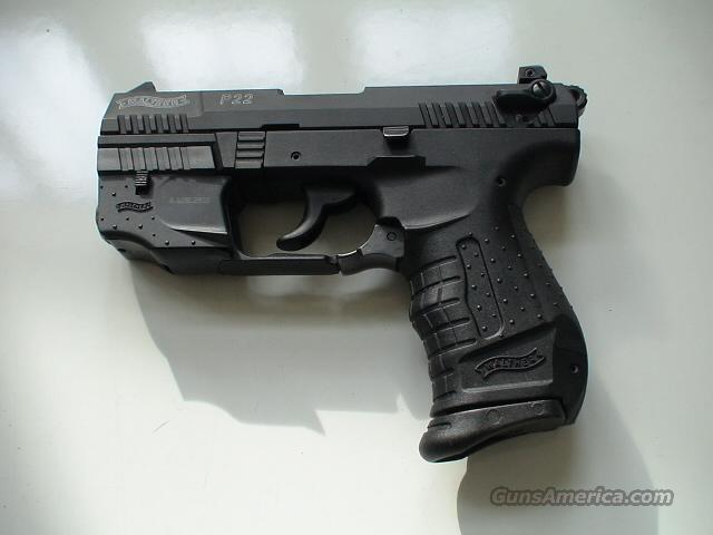 WALTHER P22 WITH LASER SIGHTS   Guns > Pistols > Walther Pistols > Post WWII > PP Series