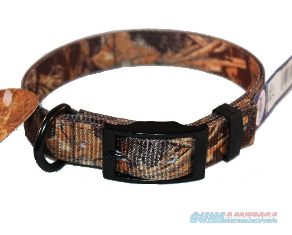 "Dog Collar Realtree MAX-4 Camo 2 Ply Nylon End Ring 1"" X 27"" US Made 120N-MX27  Non-Guns > Dogs > Equipment"