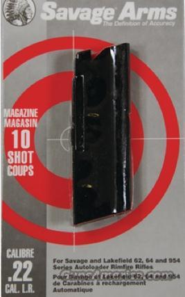 Savage Arms 22LR 10 Shot Magazine / Clip 60 Series For Models 62 64 954 #30005  Non-Guns > Magazines & Clips > Rifle Magazines > Other