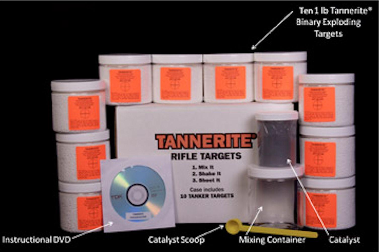 Tannerite 10 X 1# Exploding Binary Targets Pro Pak PP10  Non-Guns > Targets > Target Systems