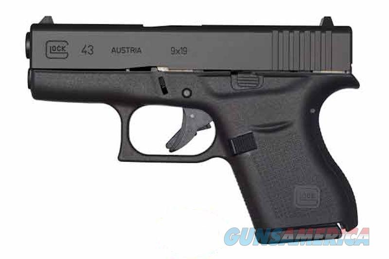 Glock 43 New In Box 9mm 2 Mags Single Stack  Guns > Pistols > Glock Pistols > 42