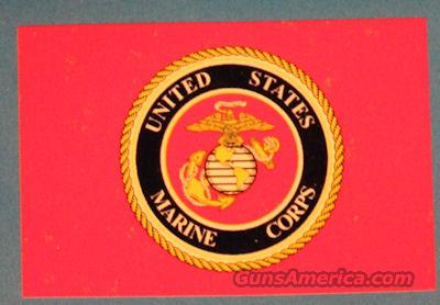USMC Marine Corps Seal w/ Lapel Pin 3'x5' Poly Flag 4 Stitch Fly Side Licensed  Non-Guns > Military Art > US Military Misc