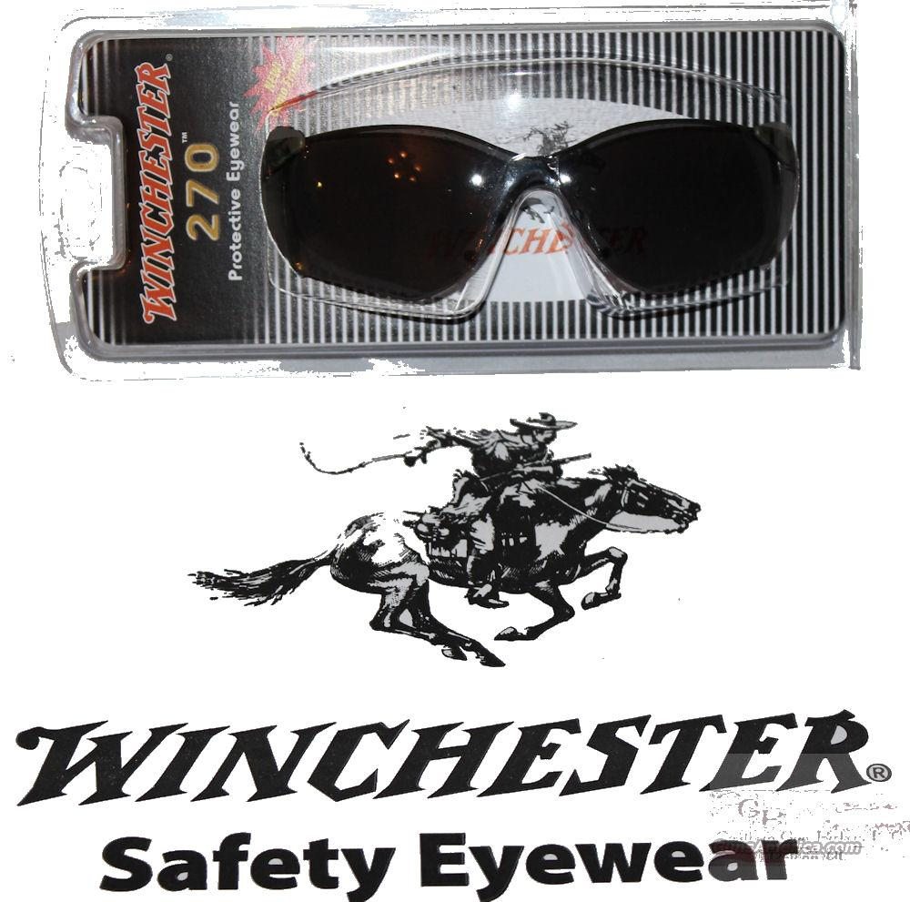 Winchester Safety / Shooting Glasses Smoke Lens and Camo Frame # WIN270C.S  Non-Guns > Miscellaneous