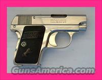 Colt .25 Auto Pocket Pistol in Nickel - Beautiful   Guns > Pistols > Colt Automatic Pistols (.25, .32, & .380 cal)
