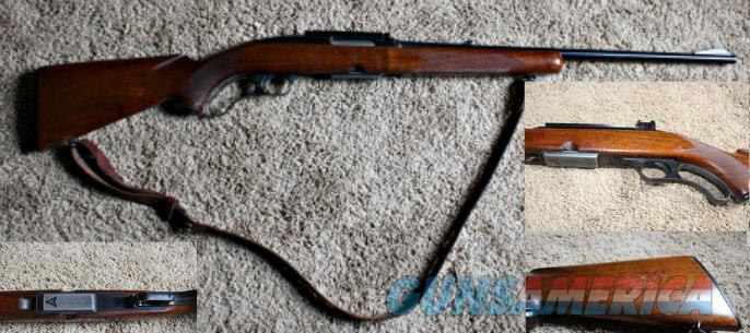 1955 Winchester Model 88 - With Leather Sling  Guns > Rifles > Winchester Rifles - Modern Lever > Other Lever > Pre-64