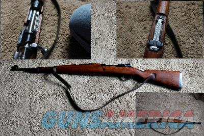 Yugoslavian M48 Mauser 8mm - With leather sling  Guns > Rifles > Surplus Rifles & Copies