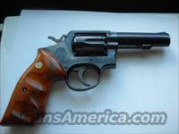Smith and Wesson Model 10-6 Bull Barrel.  Guns > Pistols > Smith & Wesson Revolvers > Model 10