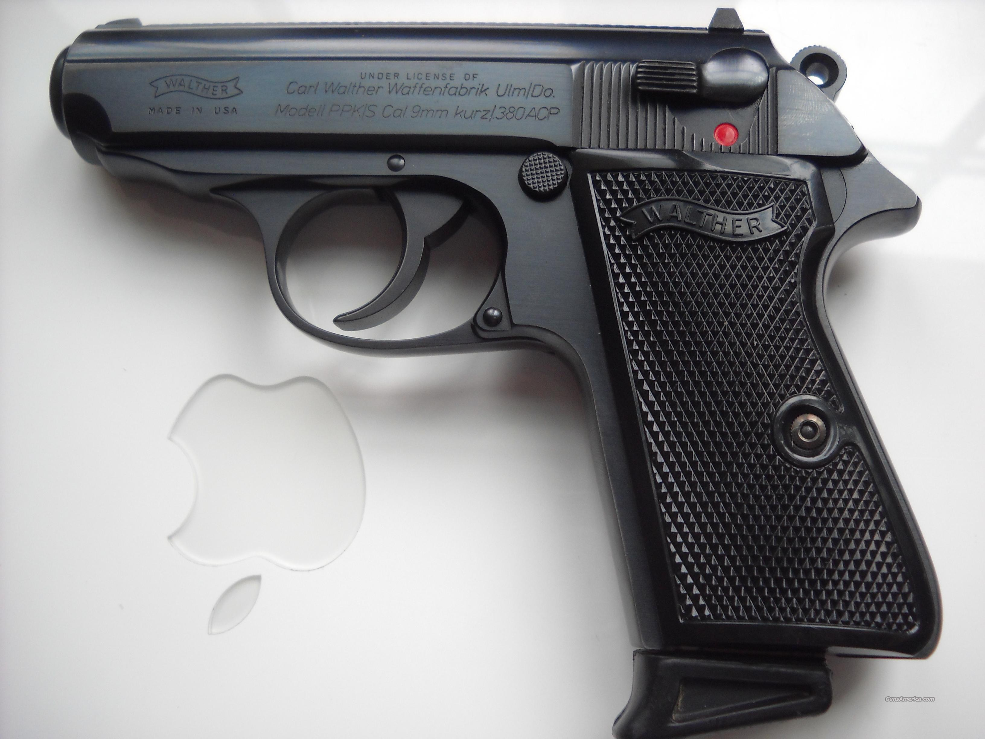 Walther PPK/S by Interarms  Guns > Pistols > Walther Pistols > Post WWII > PPK Series
