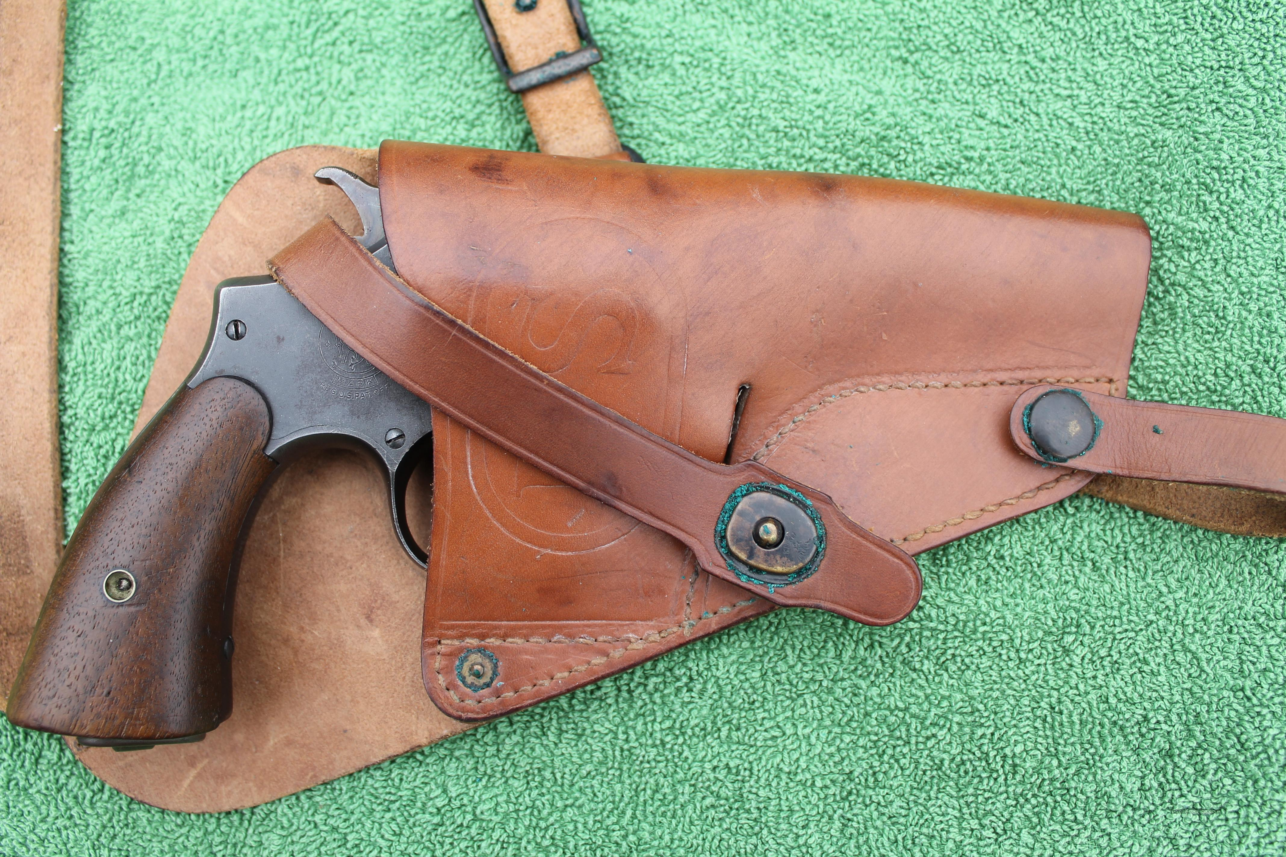 Victory Model in .38 Special With GI Shoulder Holster  Guns > Pistols > Military Misc. Pistols US > Other