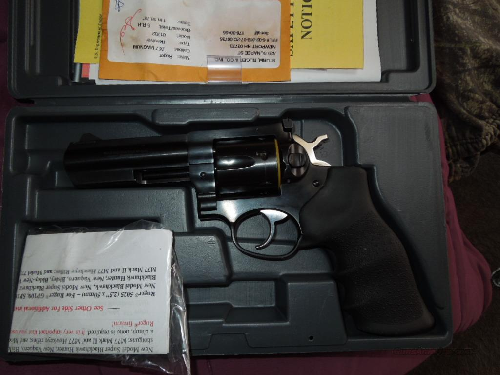 ruger gp100 4 inch 357 mag  Guns > Pistols > Ruger Double Action Revolver > SP101 Type