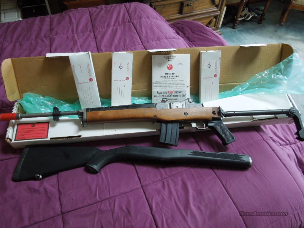 ruger mini 14 gb   Guns > Rifles > Ruger Rifles > Mini-14 Type
