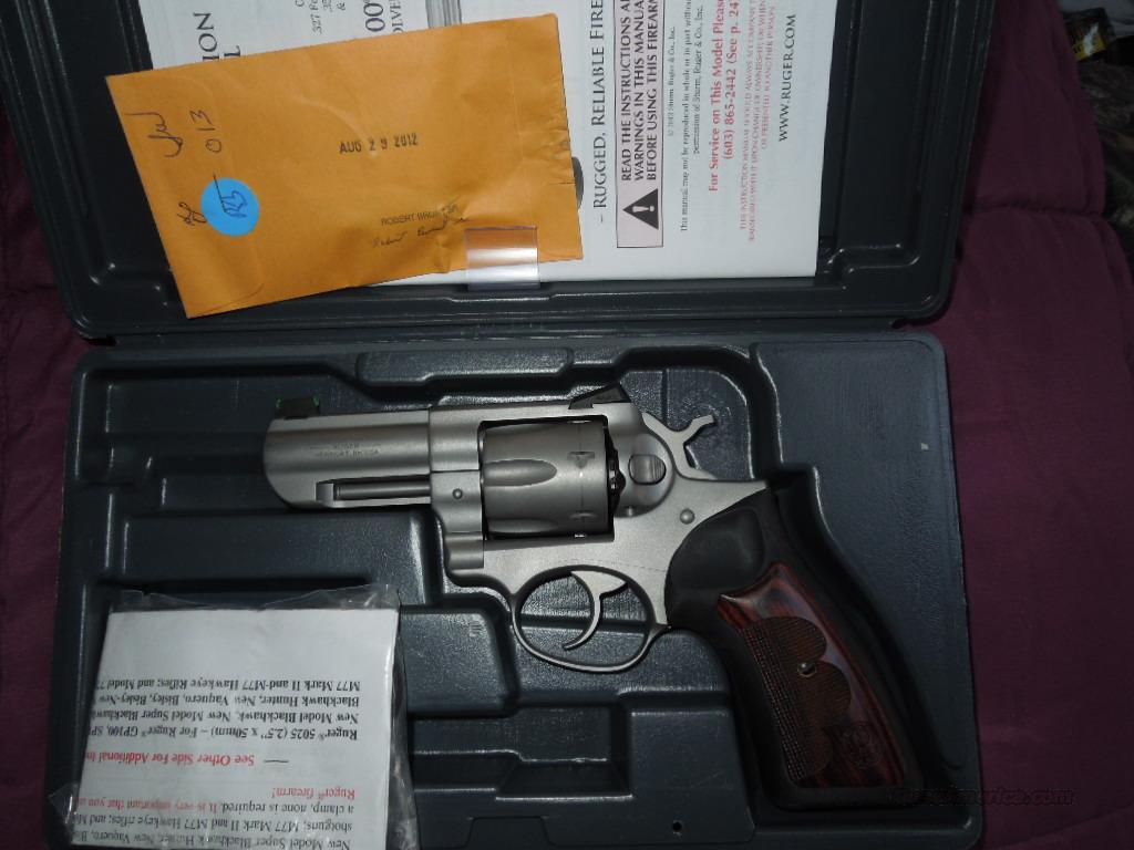 ruger gp100 wiley clapp  Guns > Pistols > Ruger Double Action Revolver > SP101 Type
