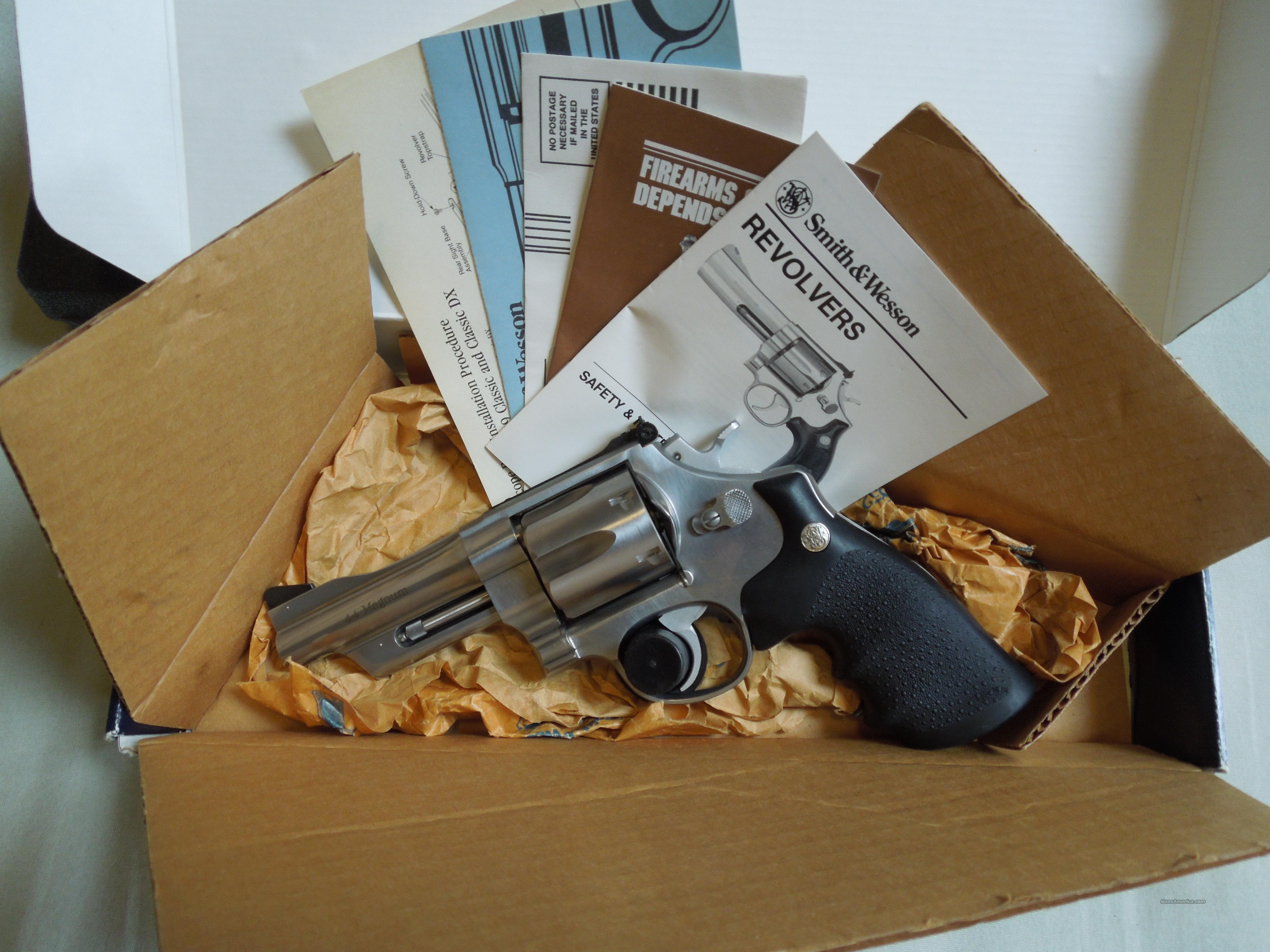 smith and wesson 629 mountain gun  Guns > Pistols > Smith & Wesson Revolvers > Model 629