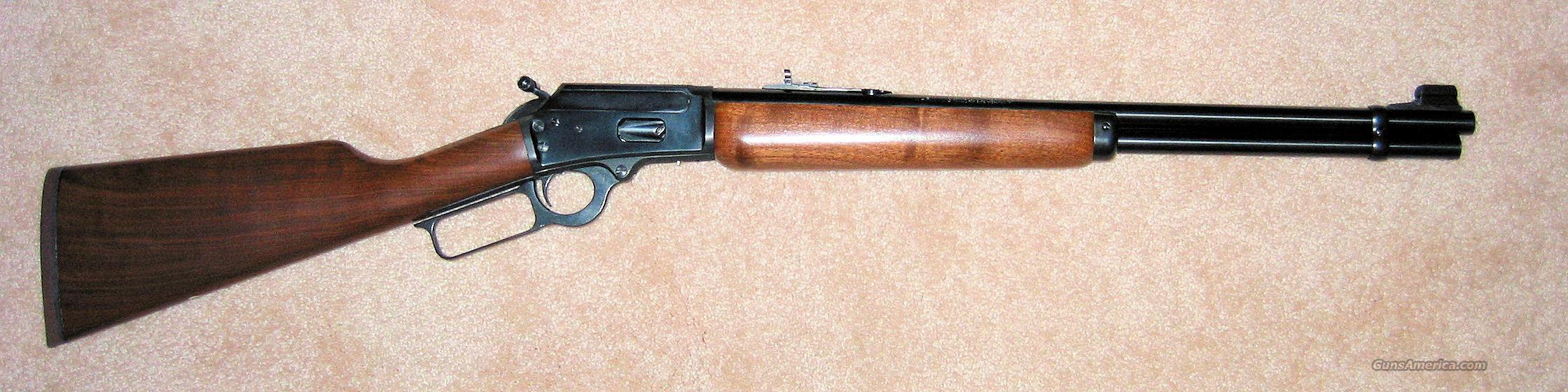 Marlin 41 Magnum Lever Action  Guns > Rifles > Marlin Rifles > Modern > Lever Action