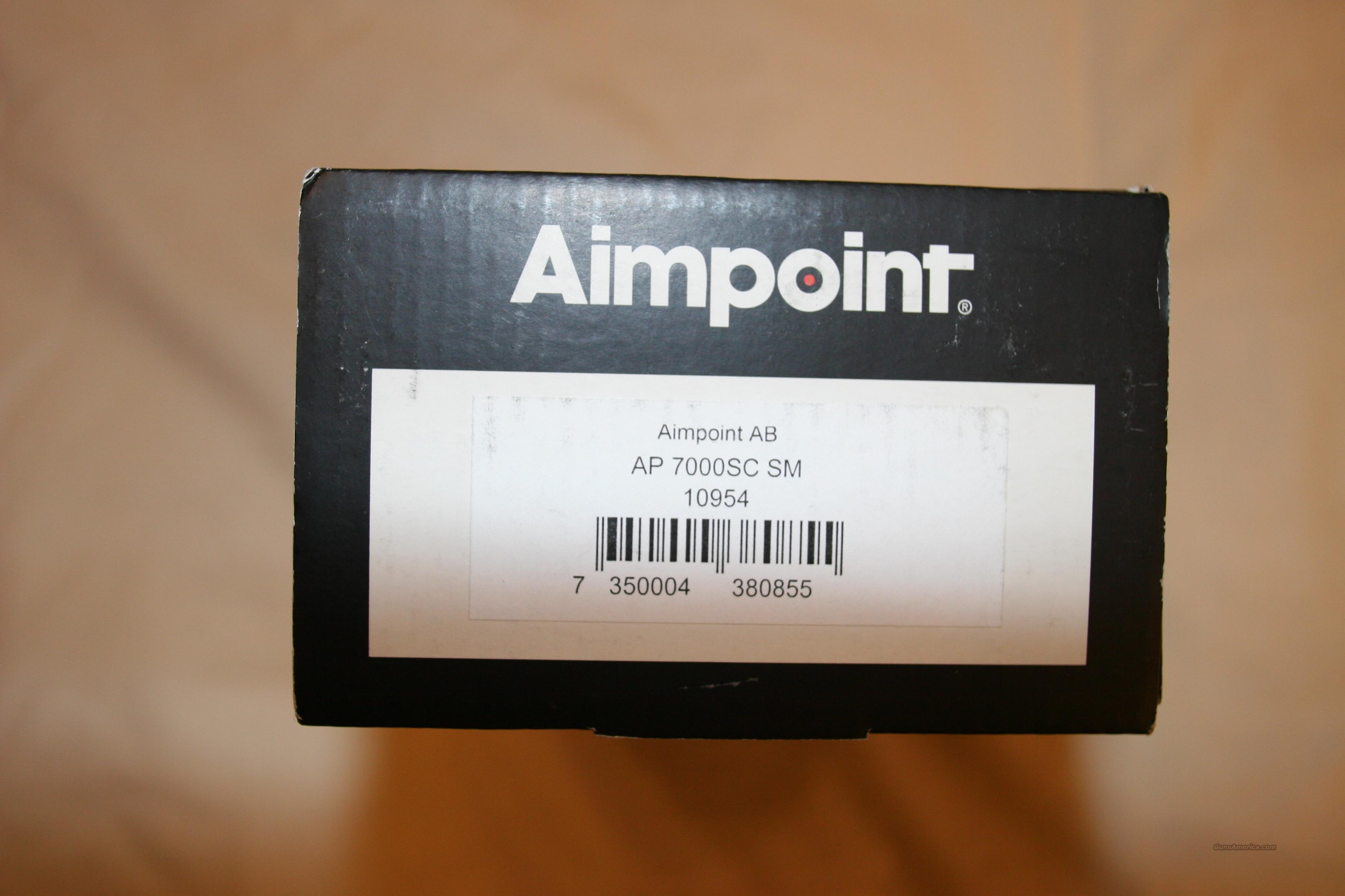 AimPoint 7000SC RedDot  Non-Guns > Scopes/Mounts/Rings & Optics > Tactical Scopes > Red Dot