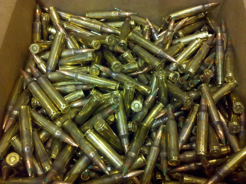 For Sale: 5.56x45mm Lake City M855 FMJ 62 Grain Steel Penetrator 1000 Loose Bulk Case  Non-Guns > Ammunition