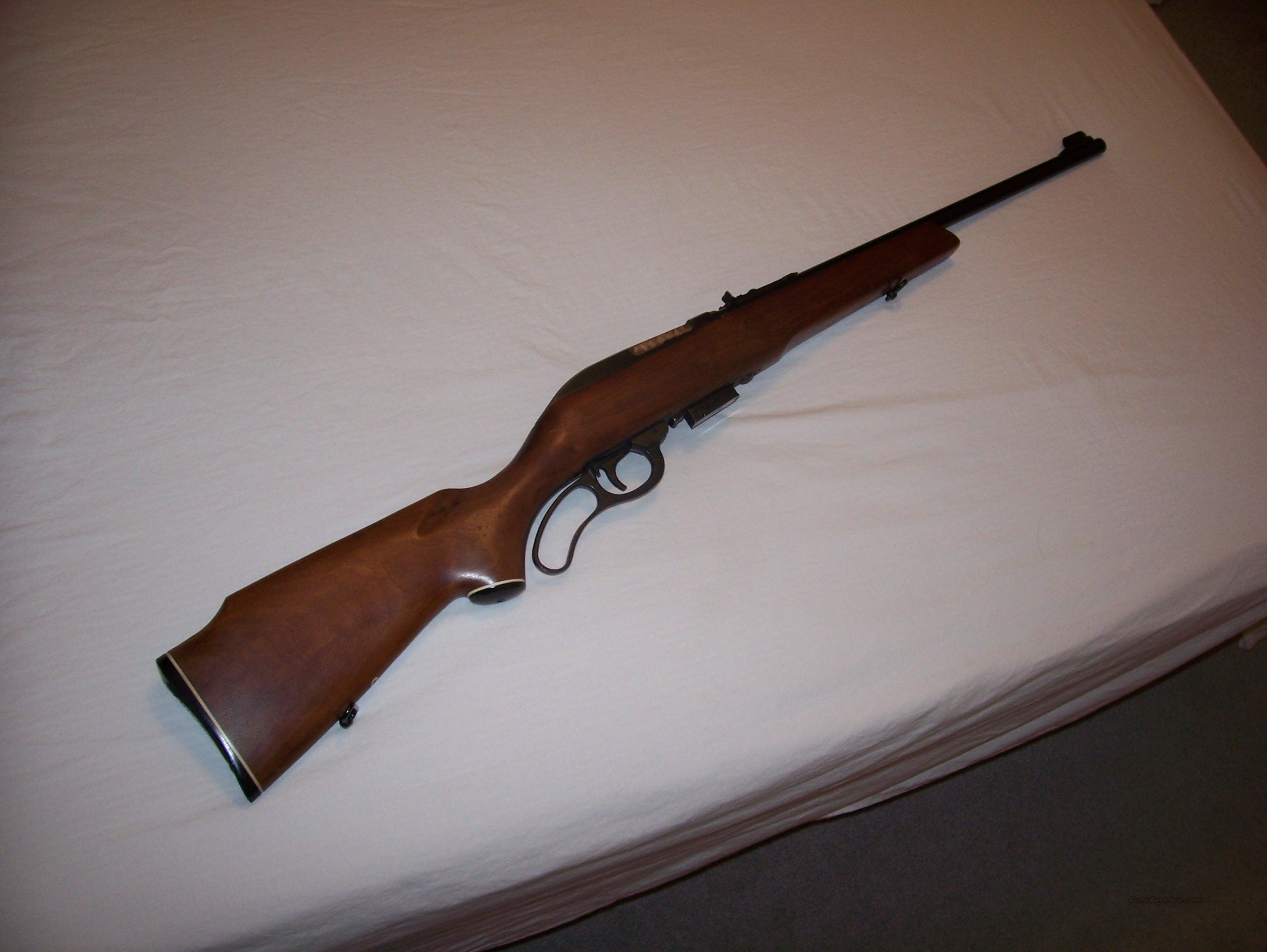 Marlin Model 62 30 Cal Carbine Lever Action  Guns > Rifles > Marlin Rifles > Modern > Lever Action
