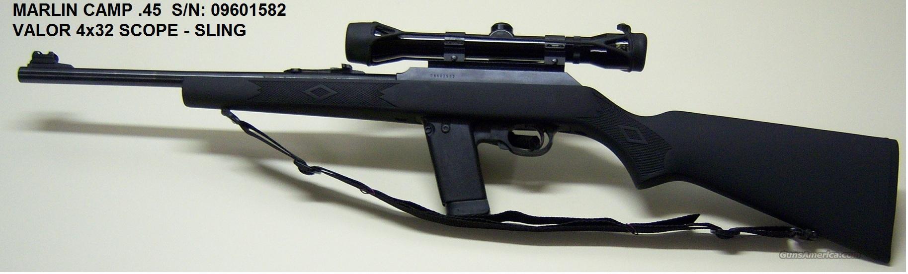 Marlin model 45 camp carbine ruger 44 magnum m1 garand 30 06 c