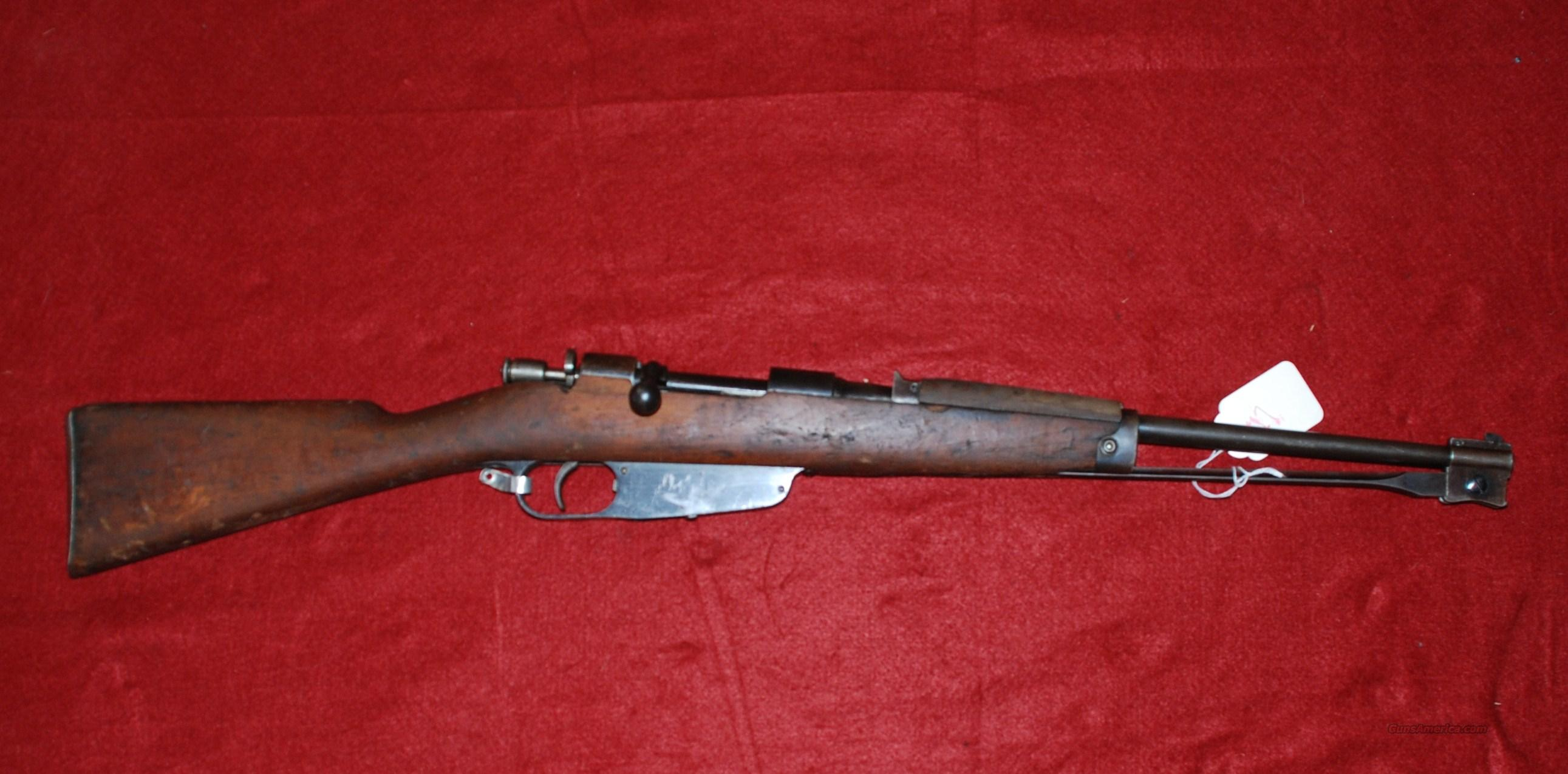 ITALIAN Model 38 Mannlicher-Carcano  Guns > Rifles > Military Misc. Rifles Non-US > Other