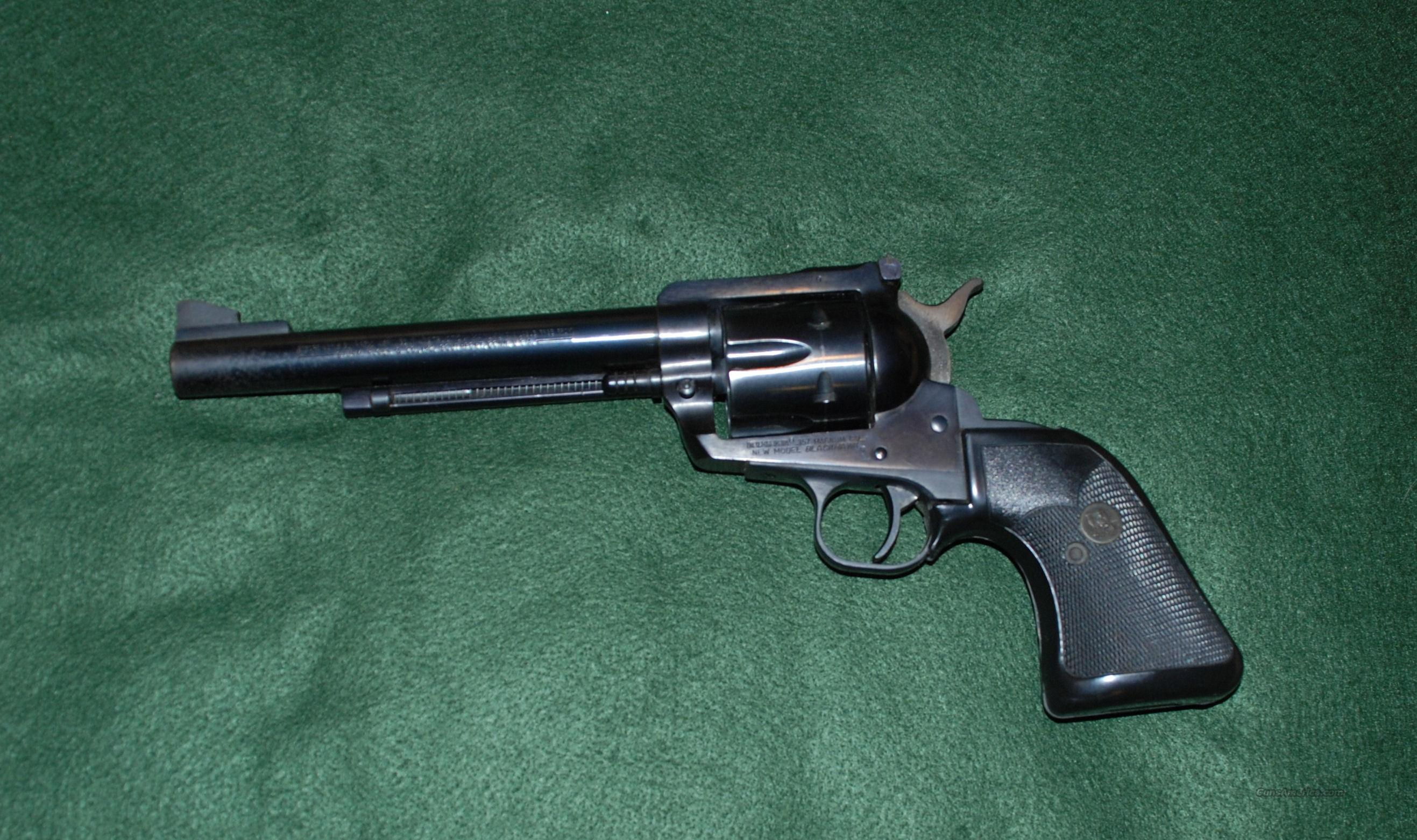 Ruger New Model Blackhawk  357 Mag  Guns > Pistols > Ruger Single Action Revolvers > Blackhawk Type