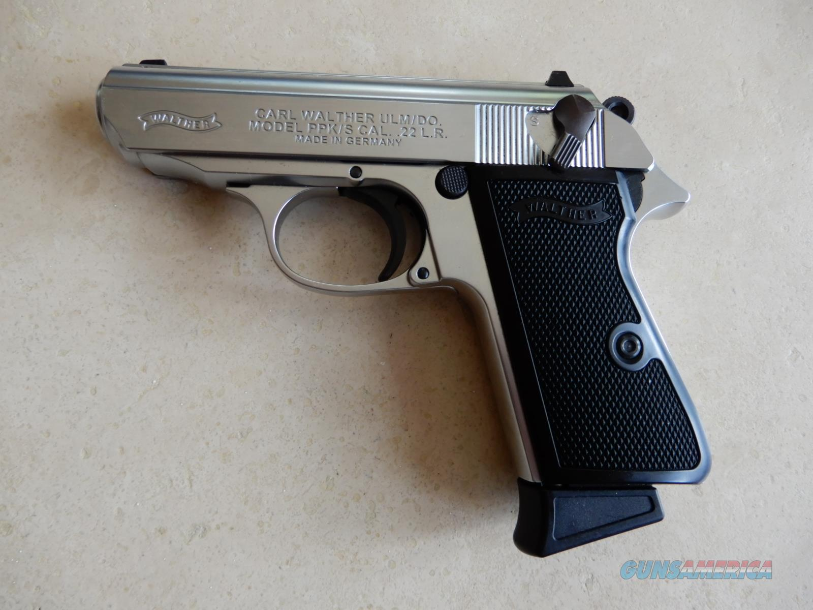 Walther PPK/S with Threaded Barrel  Guns > Pistols > Walther Pistols > Post WWII > PPK Series