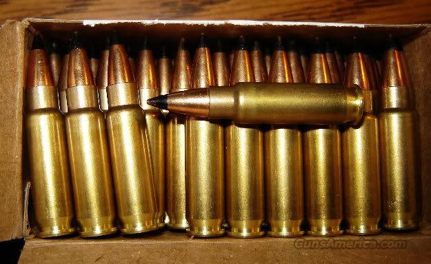 10 Rds- FN SS190 Black Tip Armor Piercing 5.7x28mm Ammo ...
