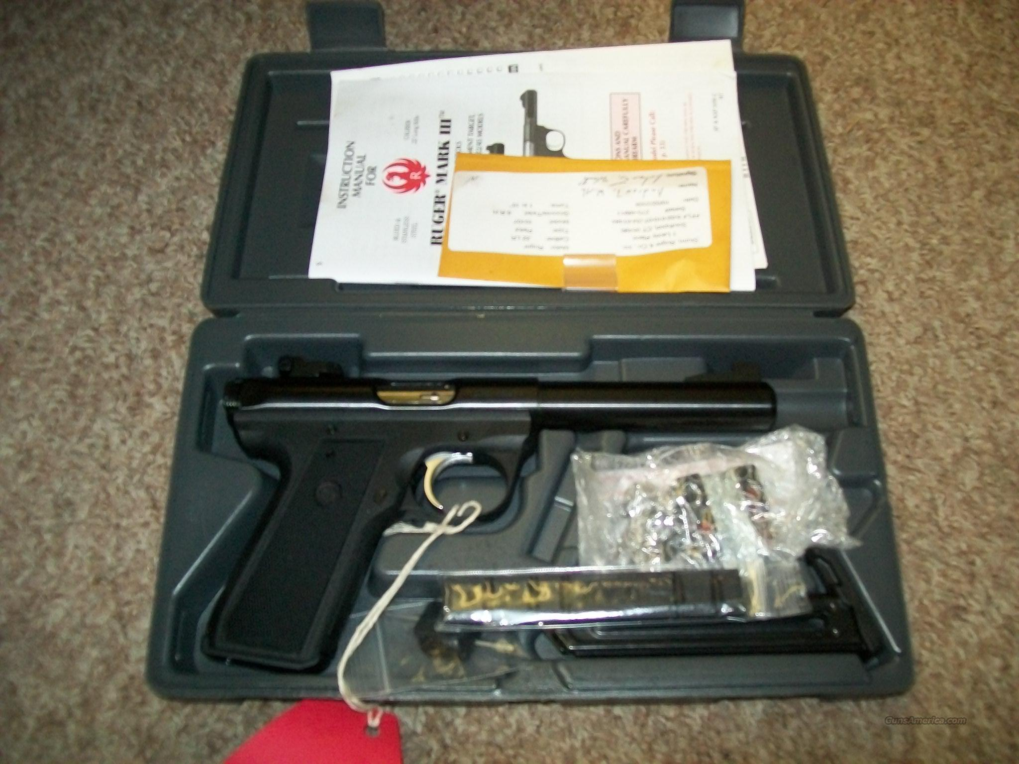ruger 22/45 Mark III target model  Guns > Pistols > Ruger Semi-Auto Pistols > P-Series