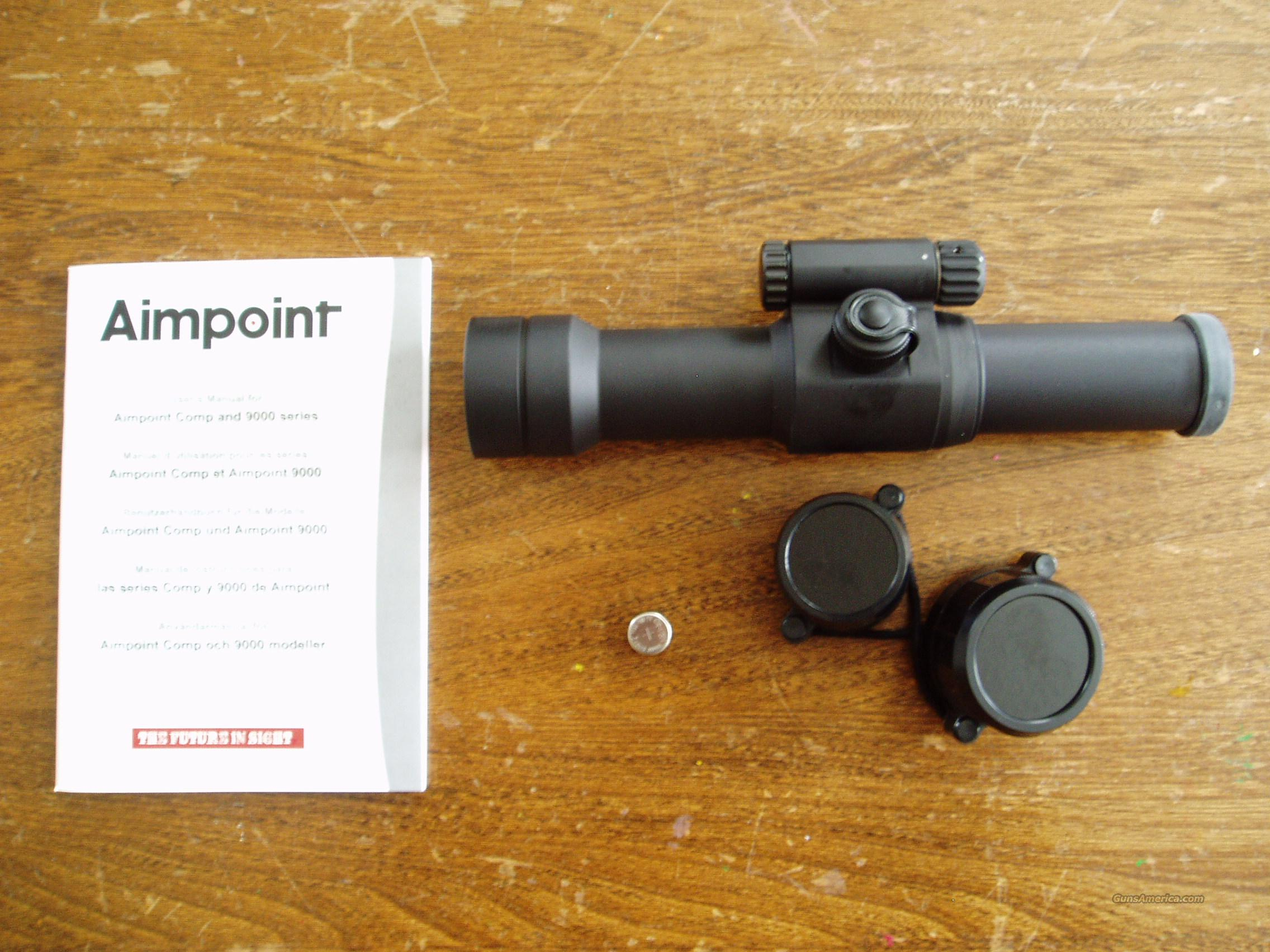 Aimpoint 9000L, 4 MOA Dot, Red Dot Scope  Non-Guns > Scopes/Mounts/Rings & Optics > Tactical Scopes > Red Dot