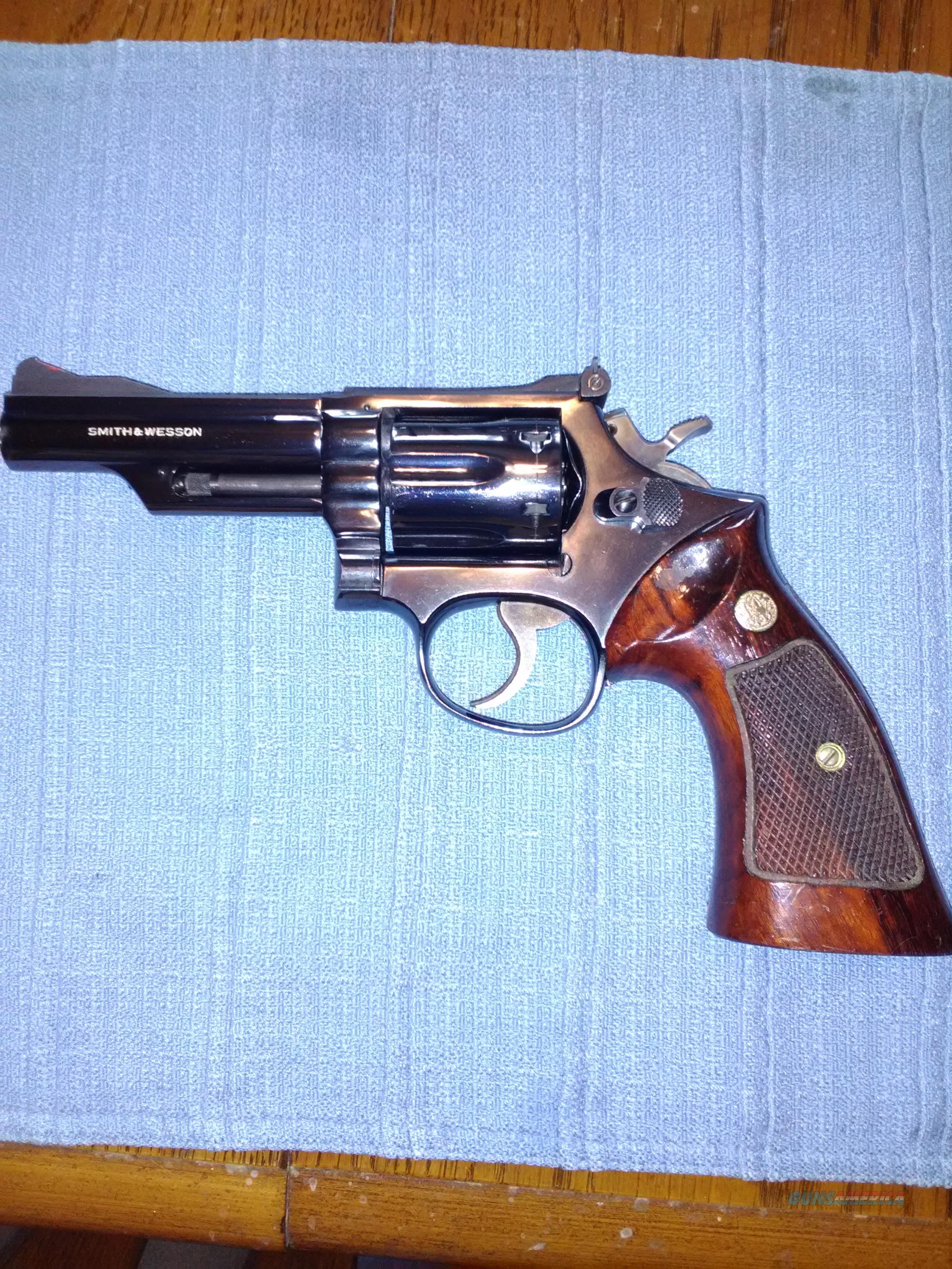 "SMITH & WESSON 19-3, 4"" VERY NICE CONDITION  Guns > Pistols > Smith & Wesson Revolvers > Med. Frame ( K/L )"