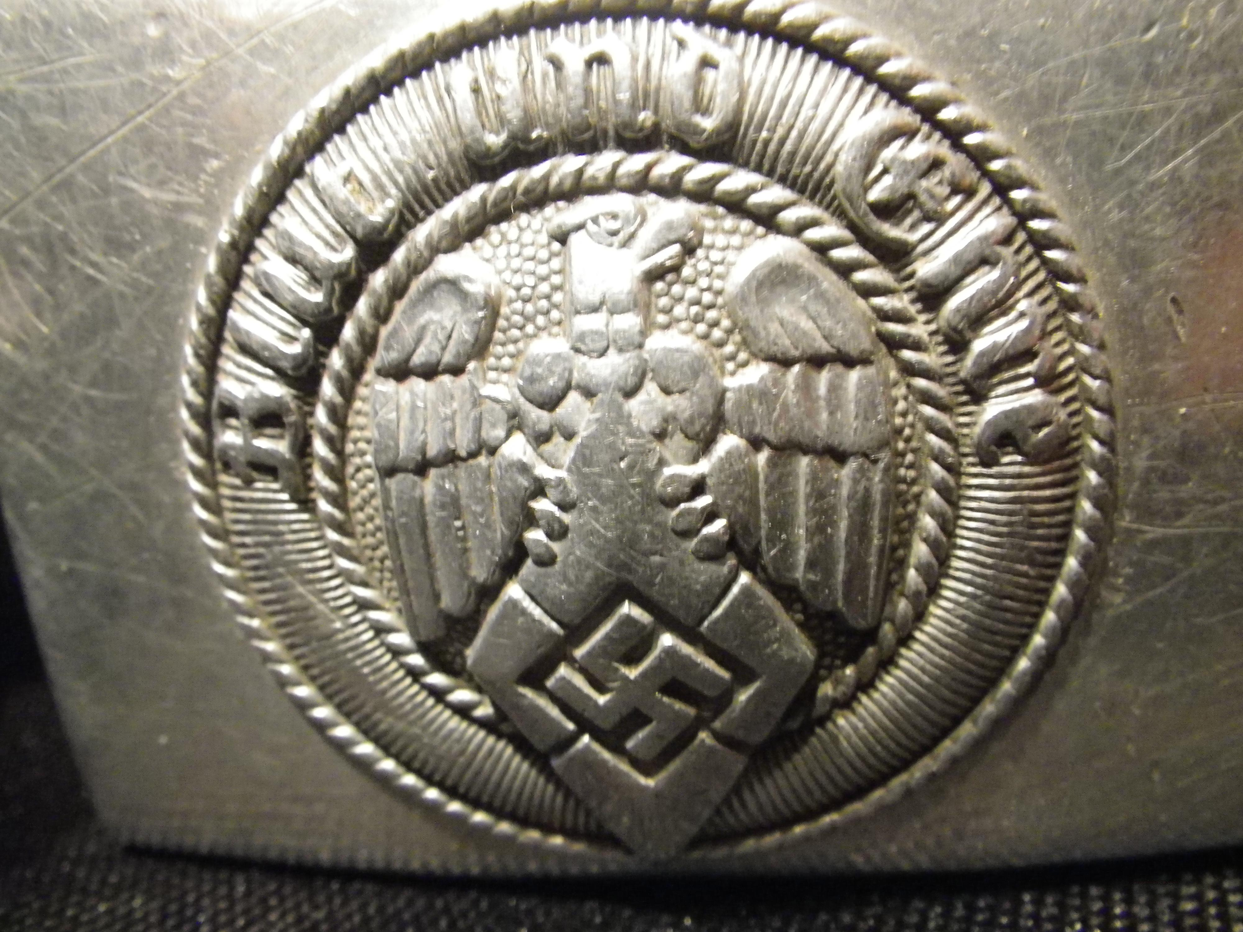 Hitler Youth Belt Buckle  Non-Guns > Military > Clothing/Camo