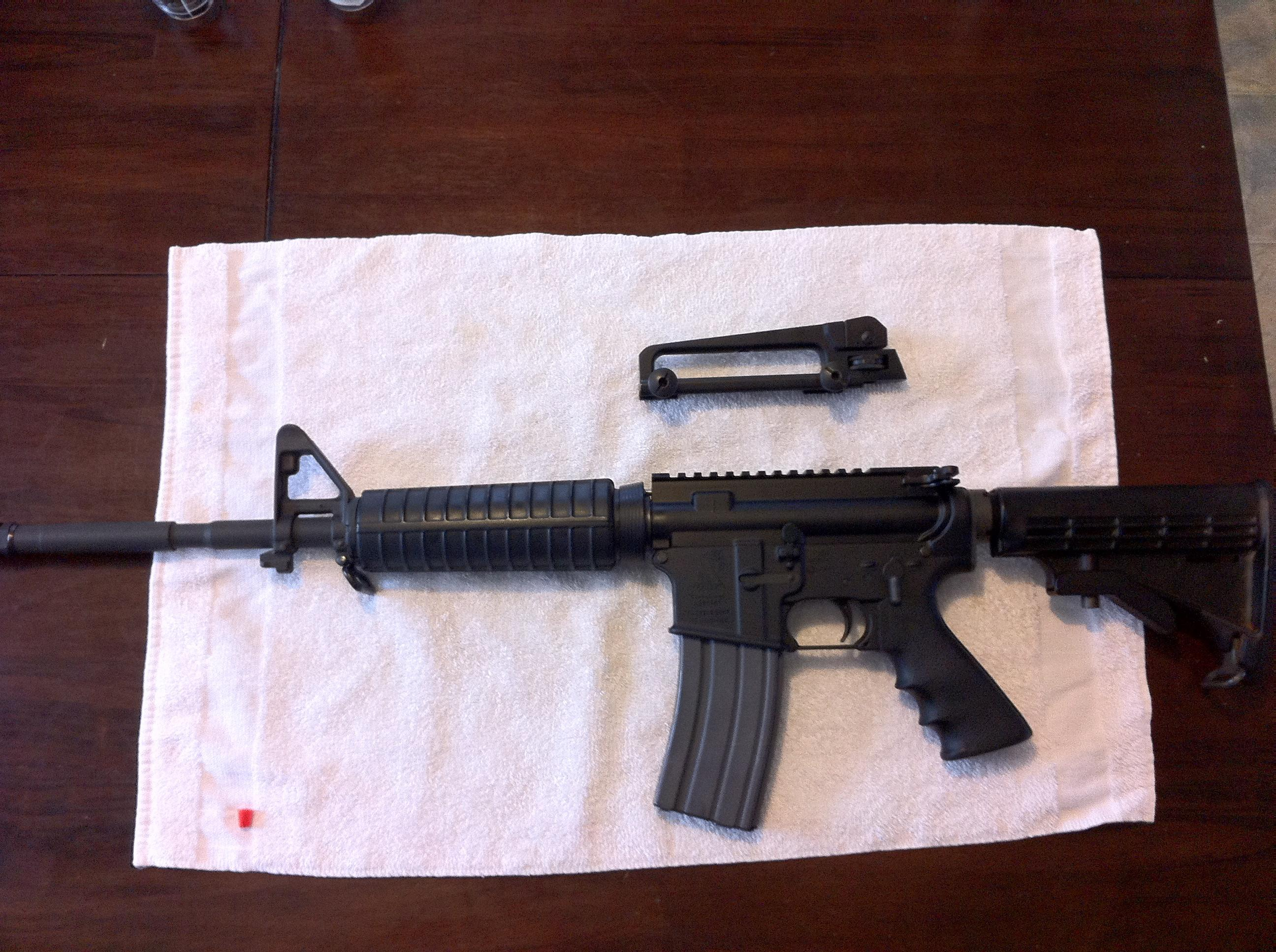 "Bushmaster A3 M4-Type Patrolman's 16"" Carbine  Guns > Rifles > Bushmaster Rifles > Complete Rifles"