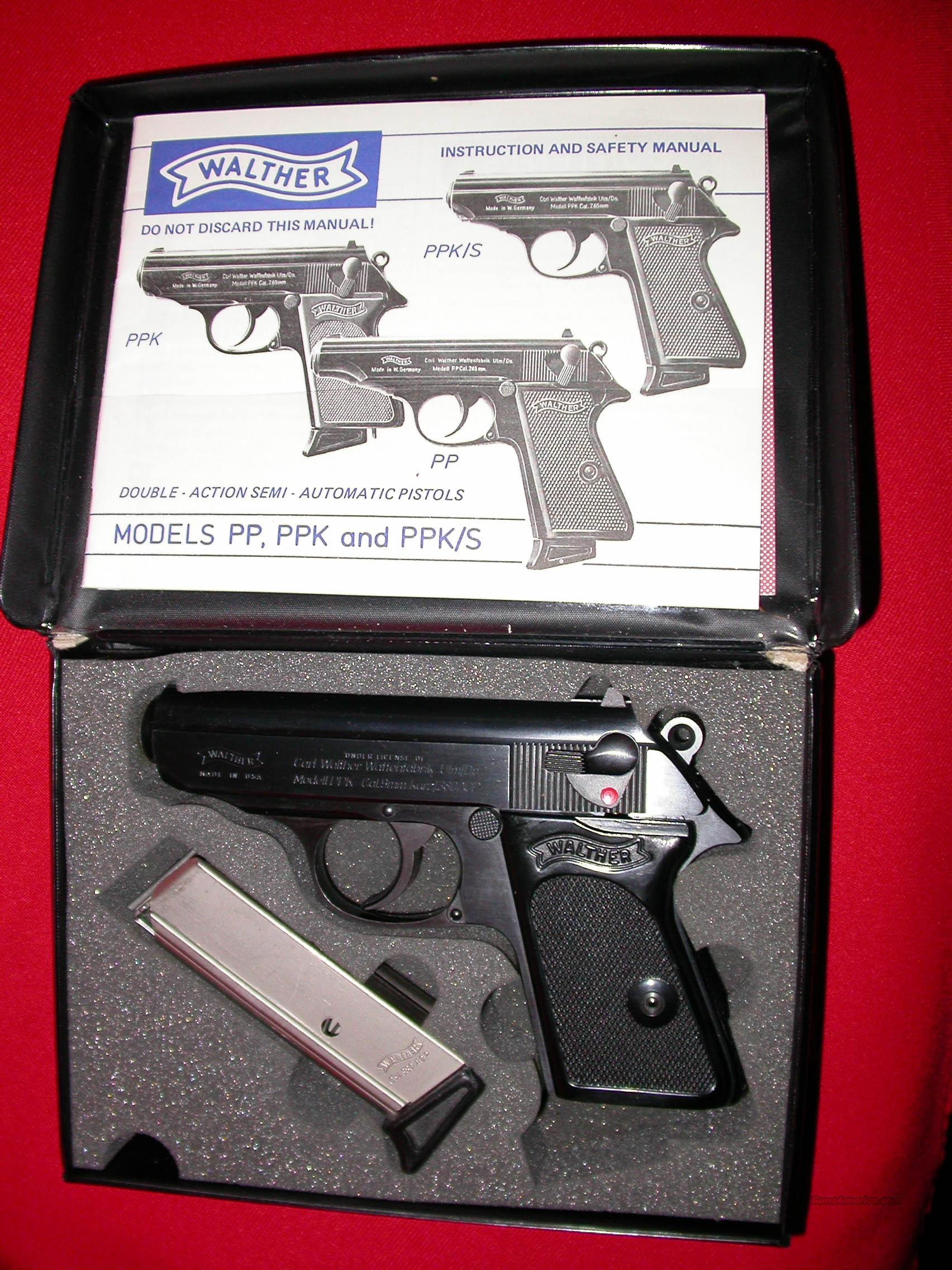 WALTHER PPK  Guns > Pistols > Walther Pistols > Post WWII > PP Series