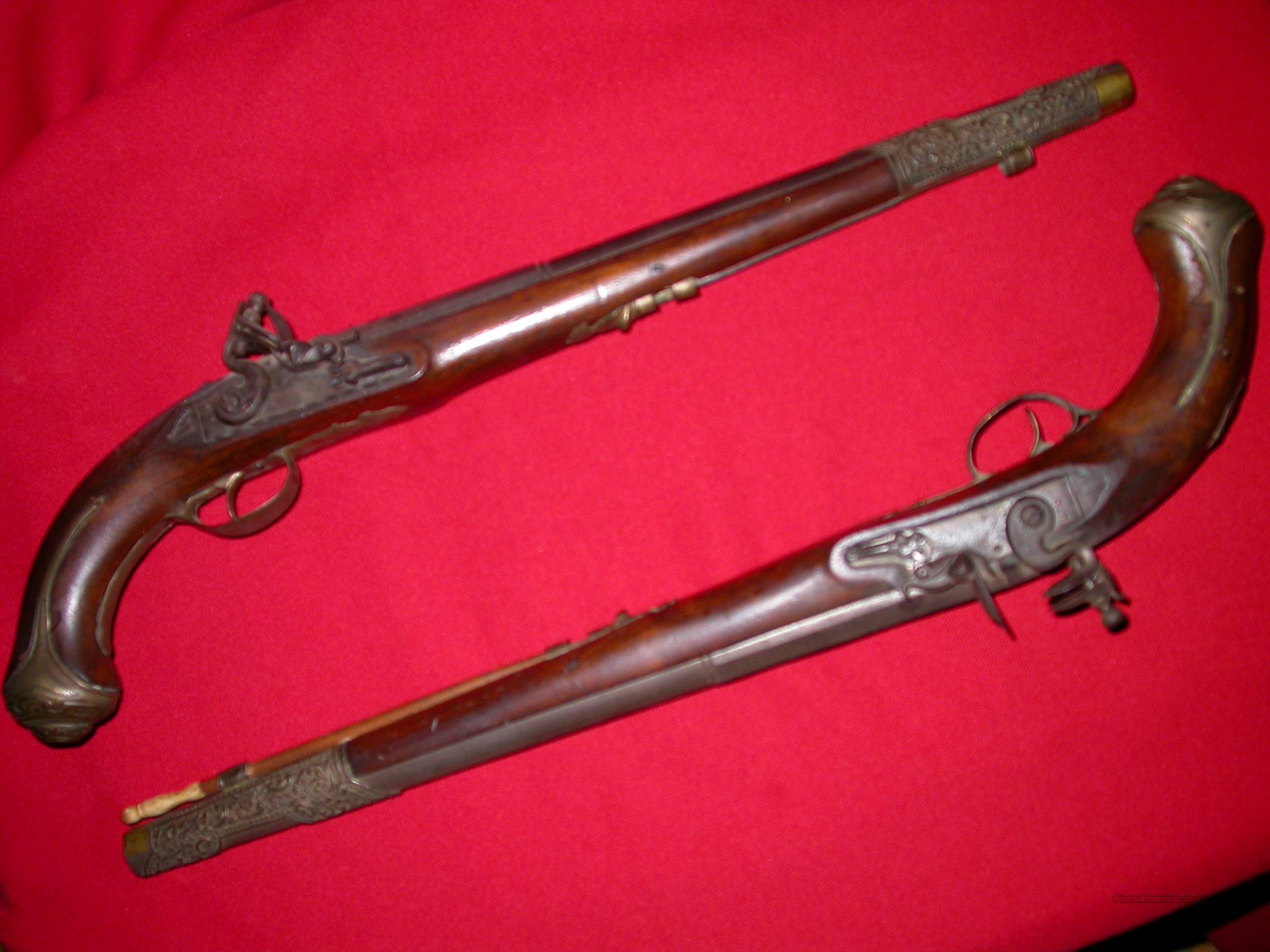 FLINTLOCK  Guns > Pistols > Antique (Pre-1899) Pistols - Ctg. Misc.