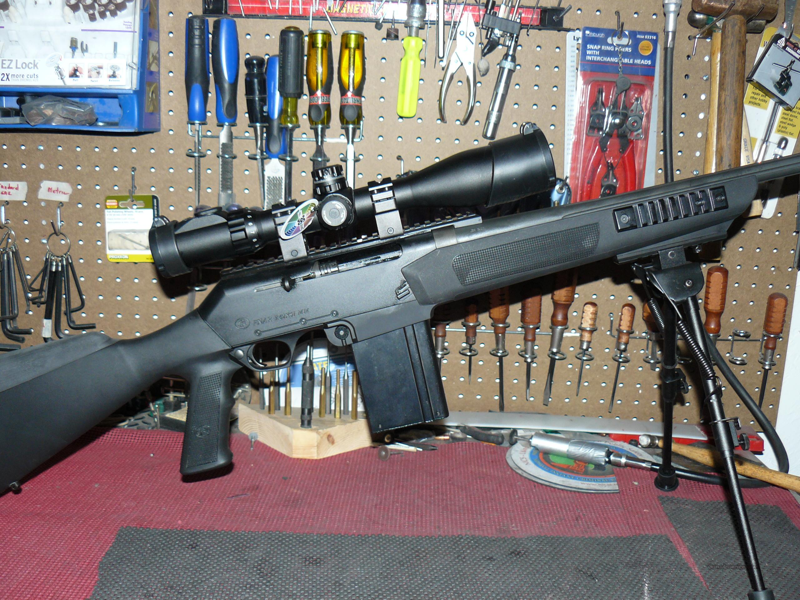 FN FNAR 7.62X51 w/SWAT SCOPE  + TACTICAL BI-POD PACKAGE  Guns > Rifles > FNH - Fabrique Nationale (FN) Rifles > Semi-auto > Other