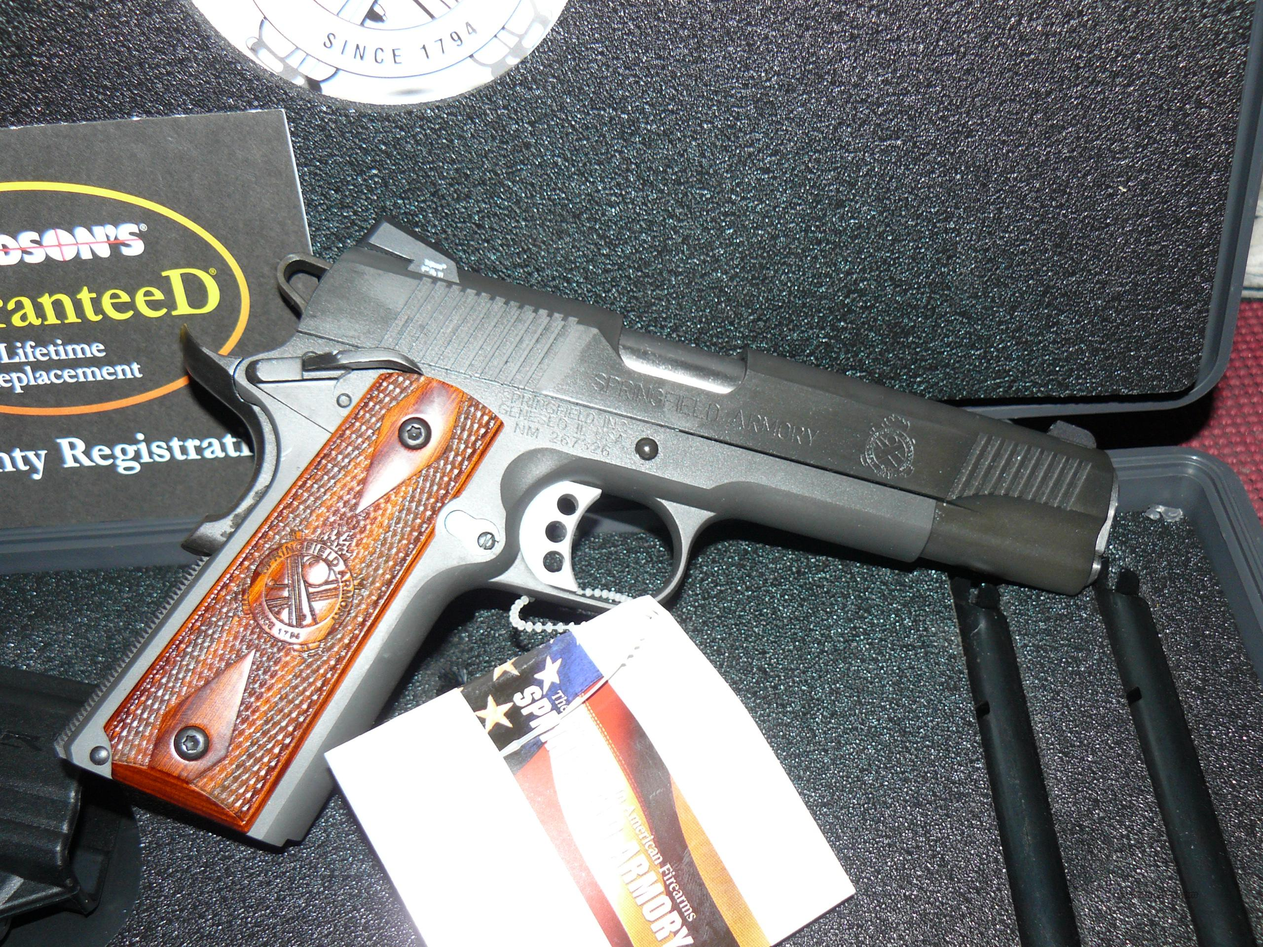 "Springfield 1911"" Loaded "" Night Sights 11 Gear System 45ACP  Guns > Pistols > Springfield Armory Pistols > 1911 Type"