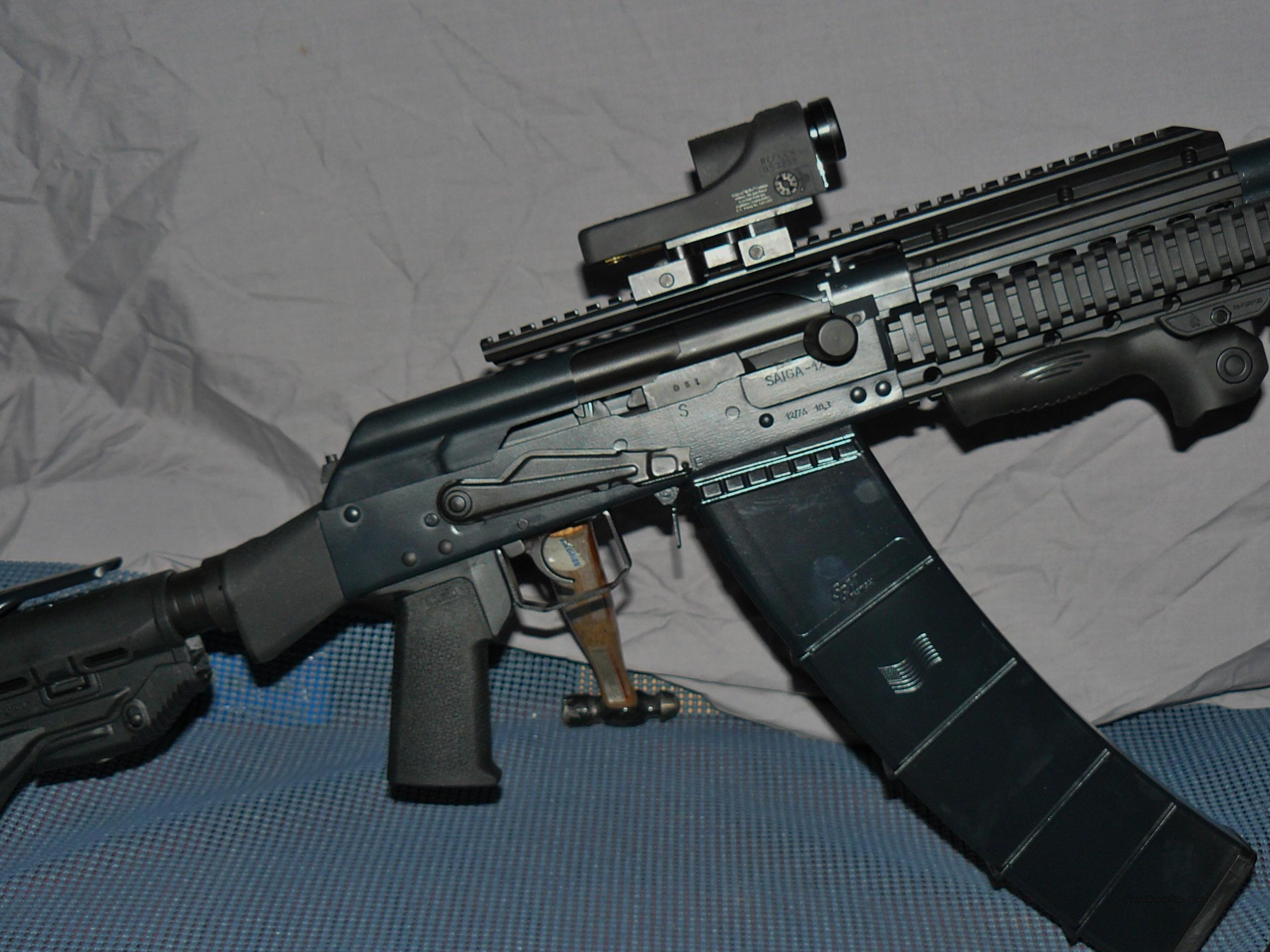 SPECIAL EDITION SAIGA 12 IZ-109, ACOG and CERAKOTED  Guns > Shotguns > Saiga Shotguns > Shotguns