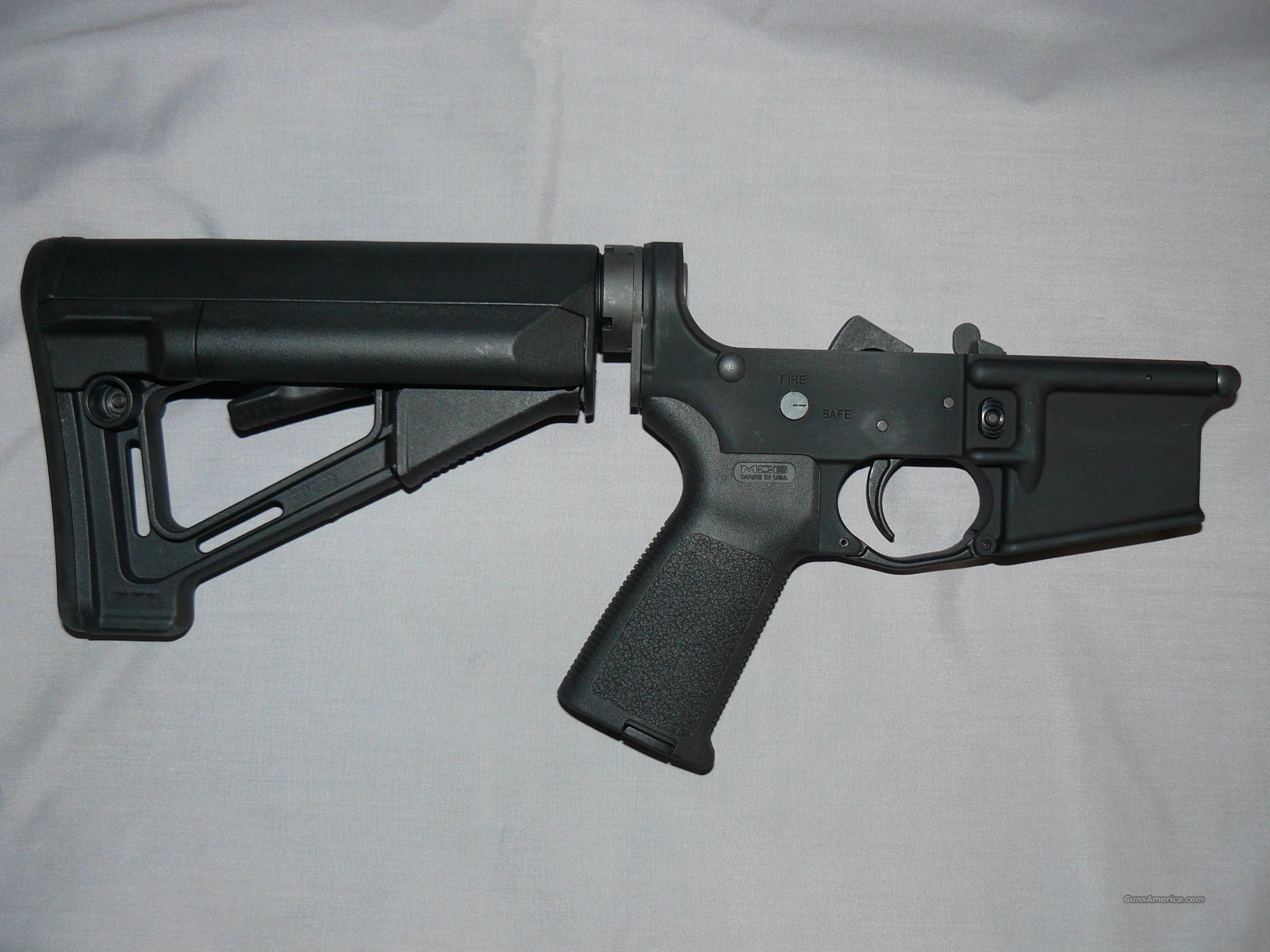COMPLETE STAG MAGPUL  STR  AR 15 LOWER  Guns > Rifles > AR-15 Rifles - Small Manufacturers > Lower Only