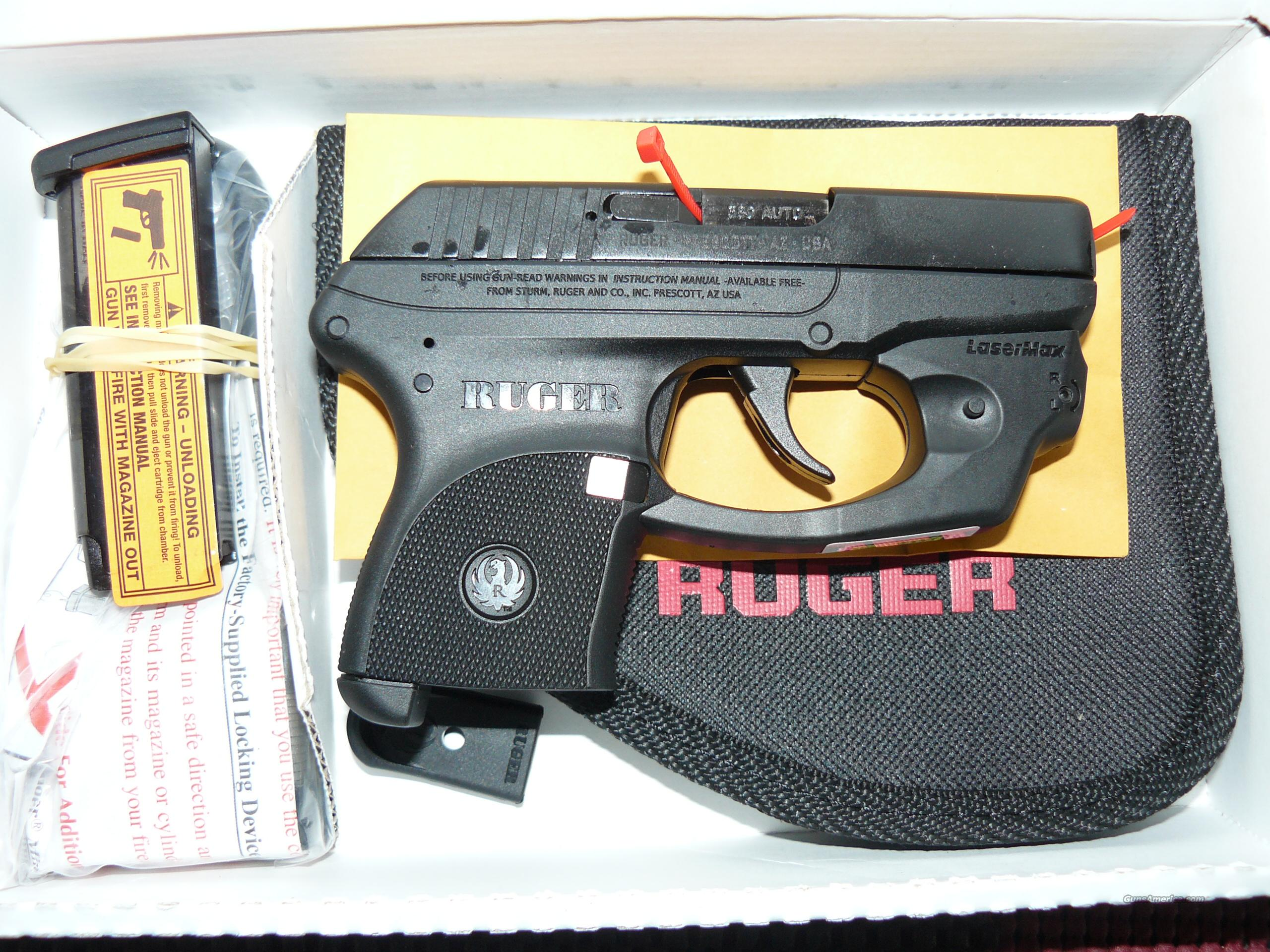 RUGER LCP 380 w/ FACTORY LASERMAX LASER  Guns > Pistols > Ruger Semi-Auto Pistols > LCP