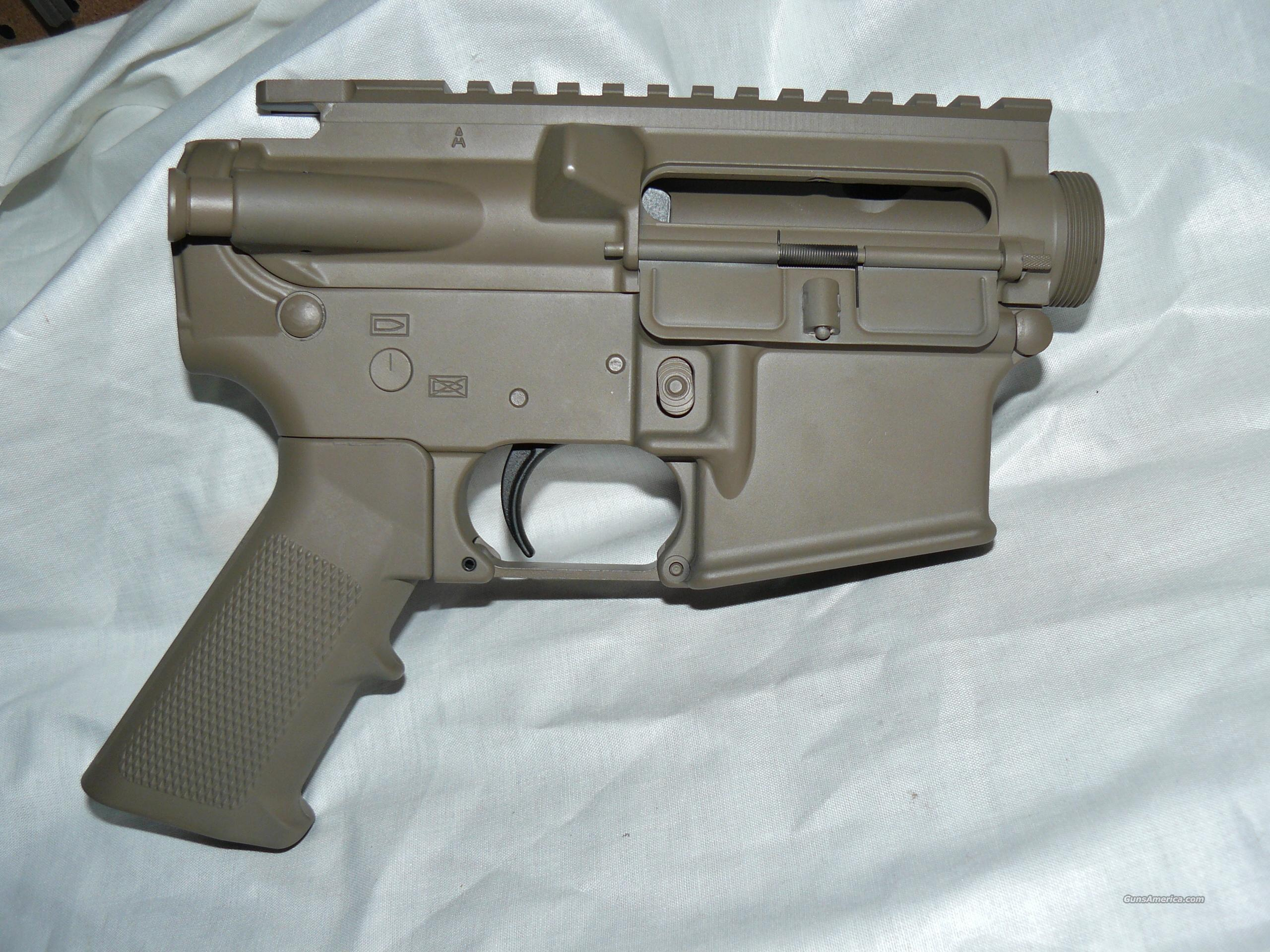 PSA AR15 MATCHED UPPER/LOWER CERAKOTE FDE w/LPK FREE SHIPPING  Guns > Rifles > AR-15 Rifles - Small Manufacturers > Lower Only
