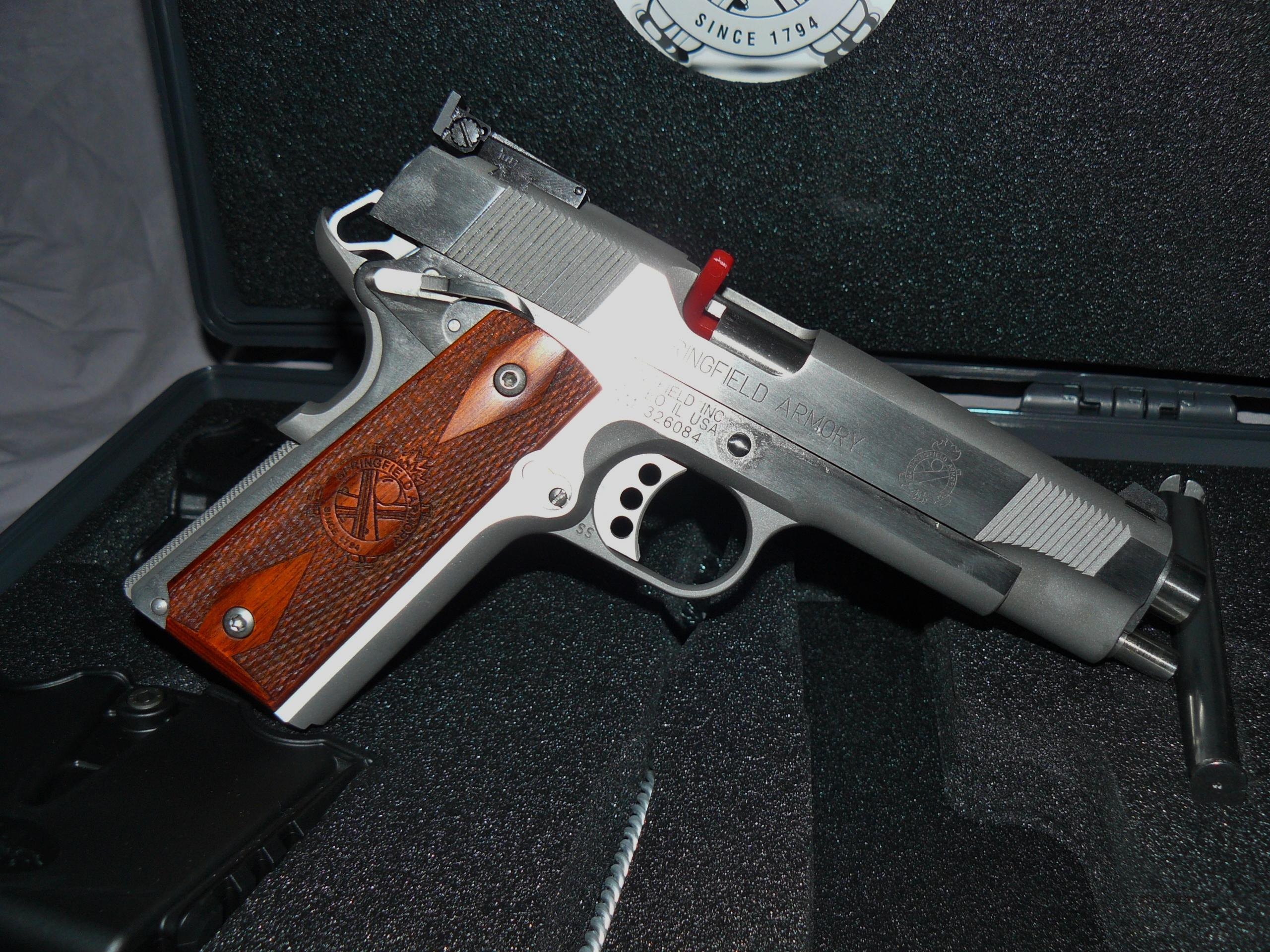 Springfield 1911 SS Target Loaded  Guns > Pistols > Springfield Armory Pistols > 1911 Type