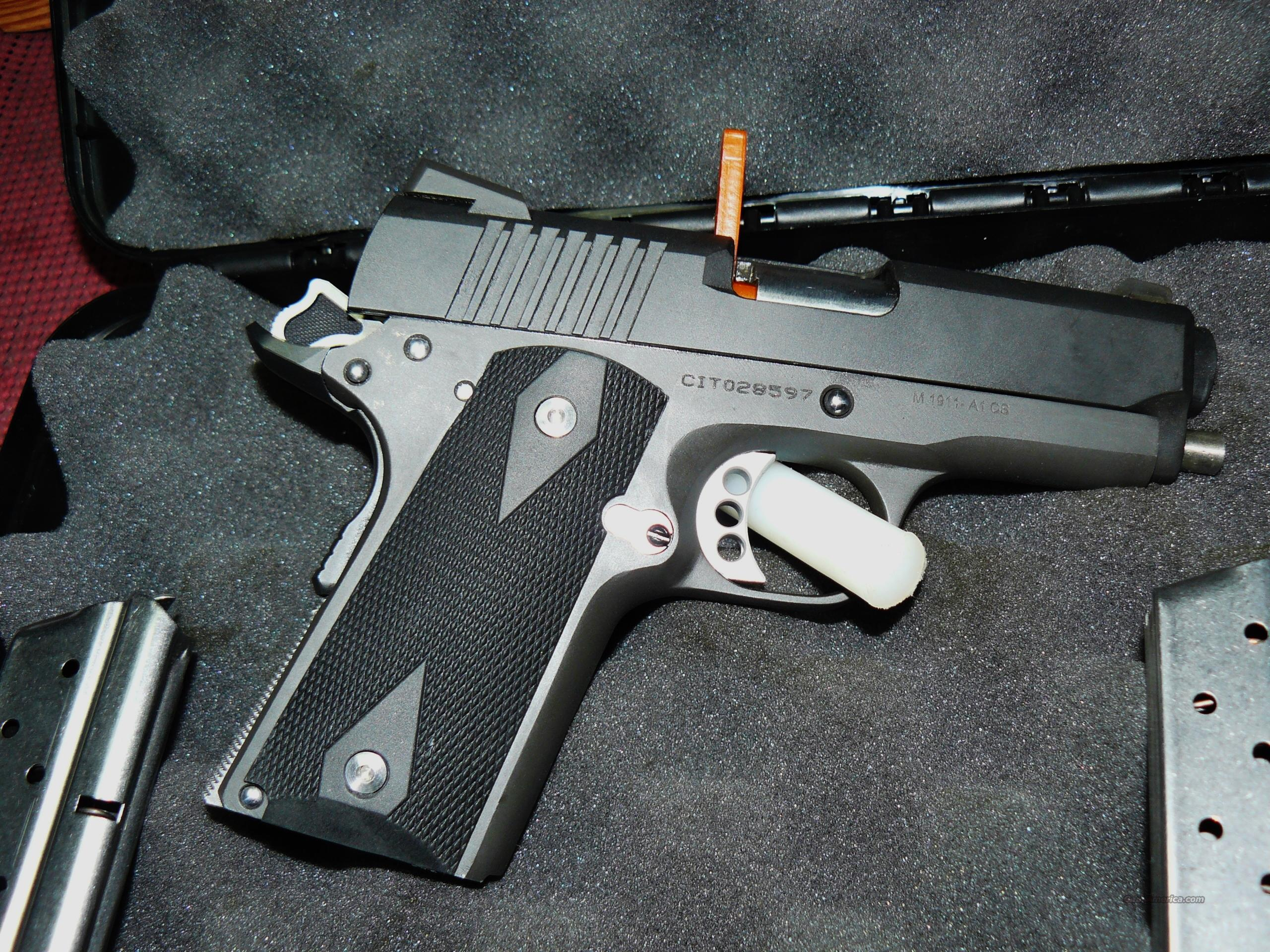 "CUSTOM ""1911 9MM COMPACT CARRY ""SWEET 9""                Guns > Pistols > 1911 Pistol Copies (non-Colt)"