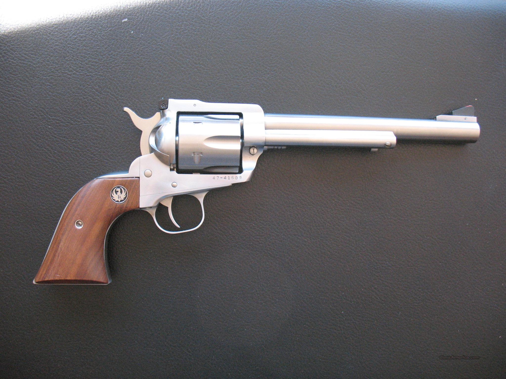 Ruger Blackhawk Stainless .45 Colt  Guns > Pistols > Ruger Single Action Revolvers > Blackhawk Type